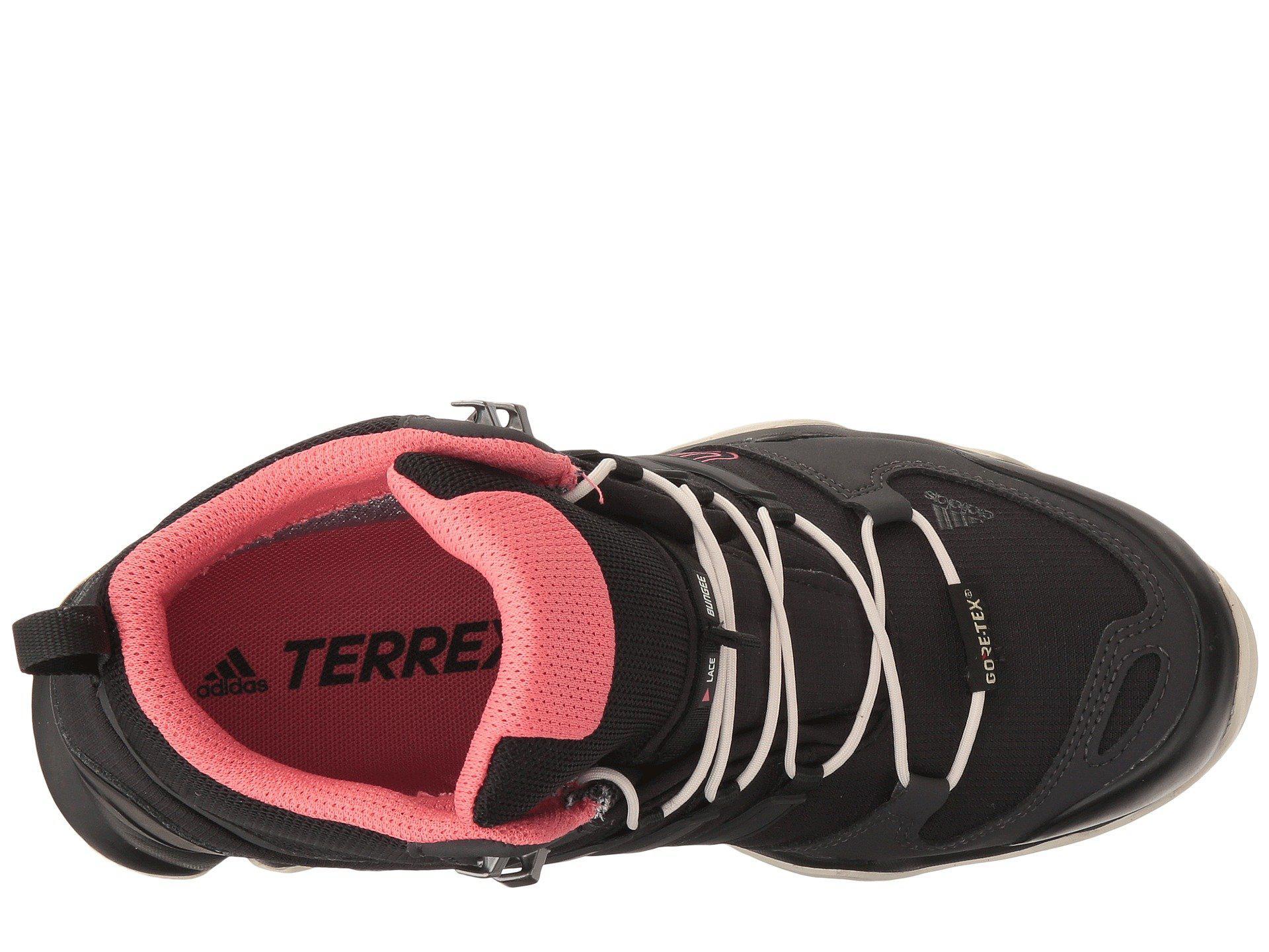 reputable site 590ad a907c Adidas Originals - Black Terrex Swift R Mid Gtx - Lyst. View fullscreen