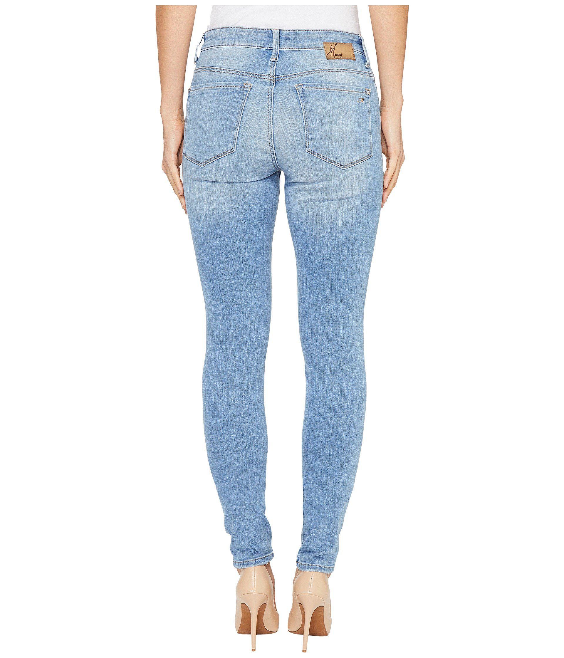 Alissa dark blue high-rise skinny jean Mavi Shop For For Sale UoVPpOa