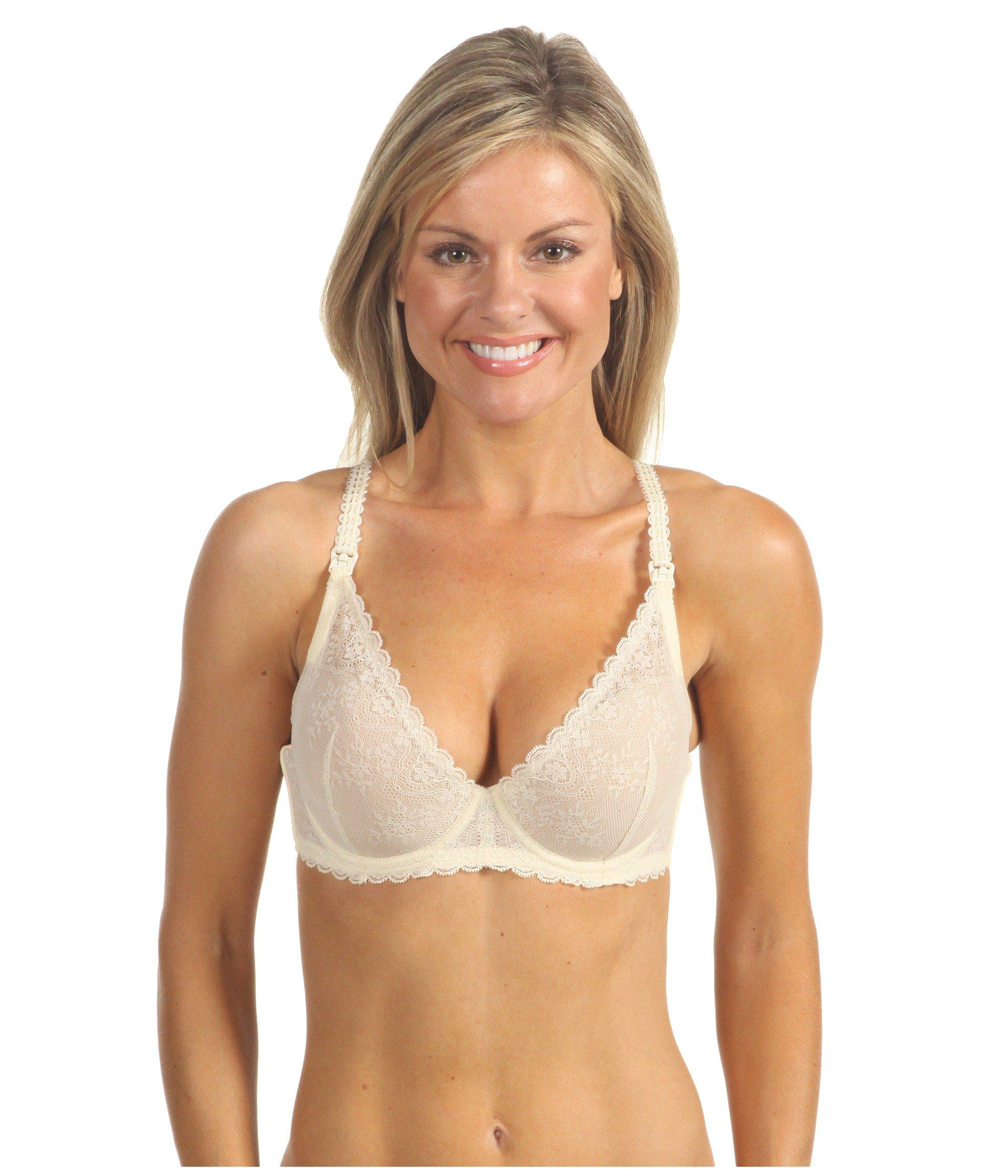 4a61b2d315 Lyst - Le Mystere Sexy Mama Underwire Nursing Bra 163 in Natural