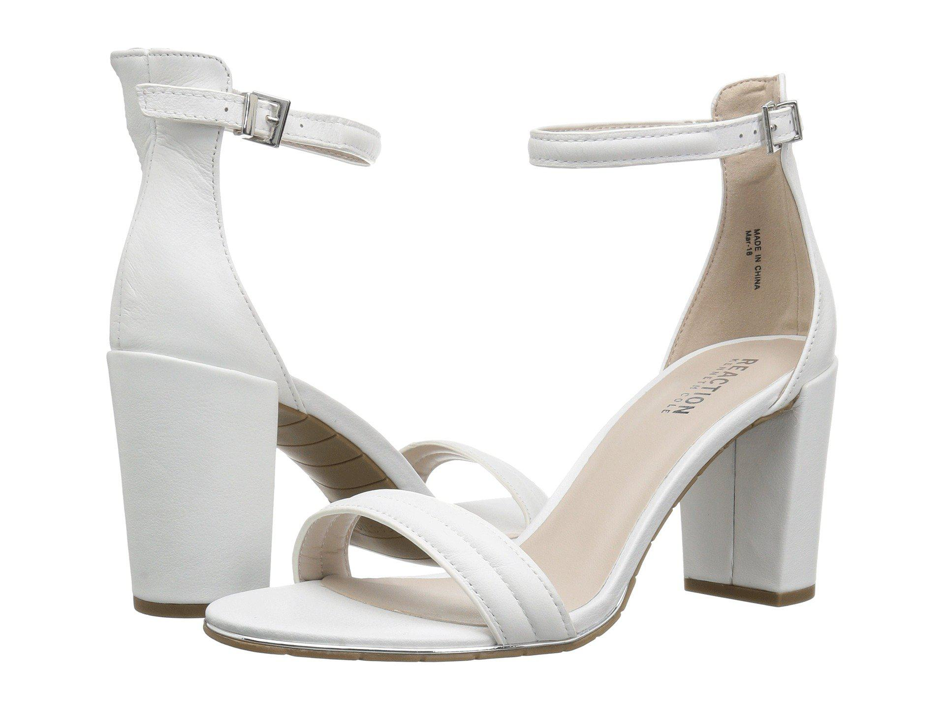 94ad8928711 Lyst - Kenneth Cole Reaction Lolita in White