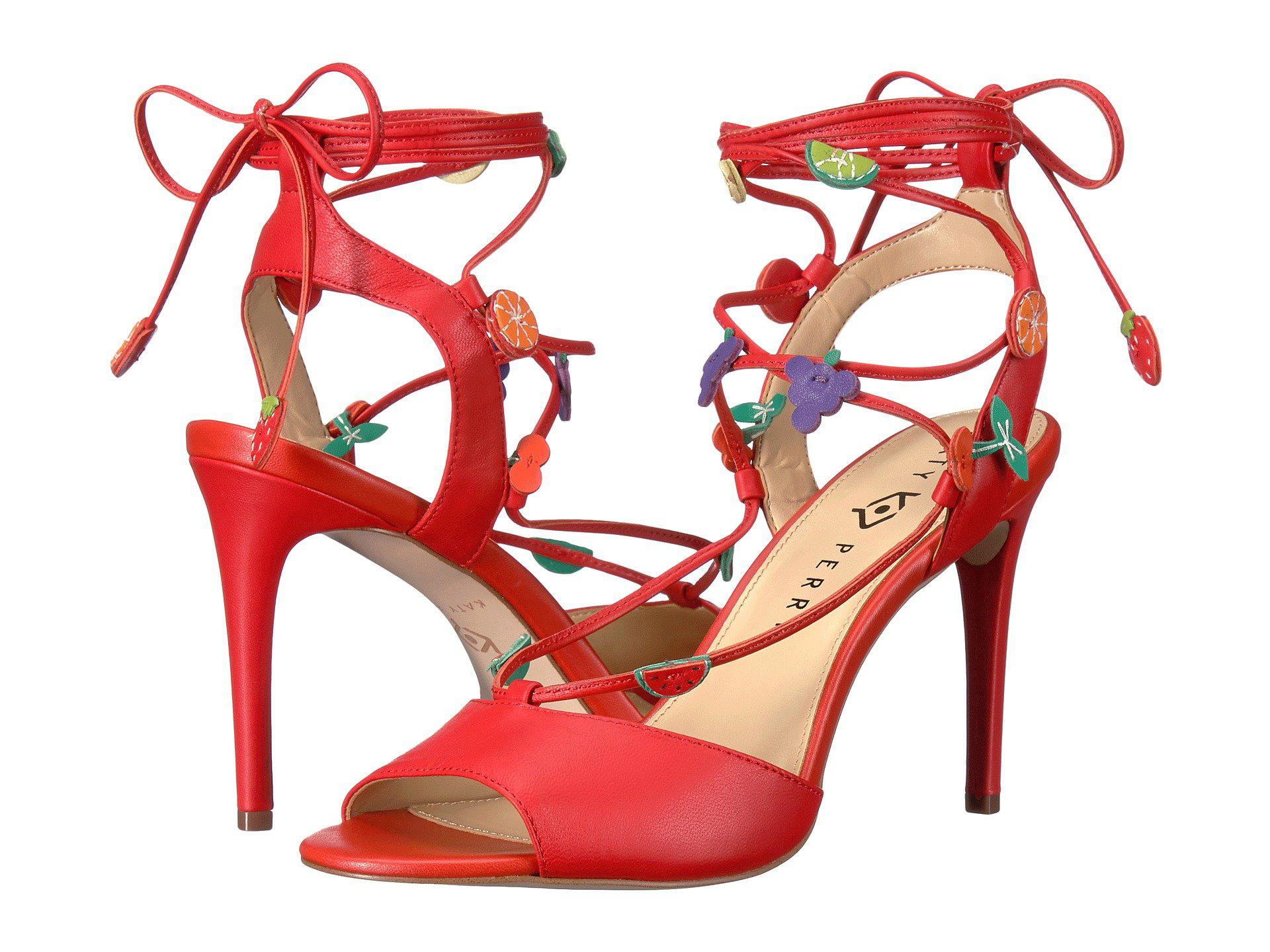8b5e540cd940 Lyst - Katy Perry The Carmen in Red