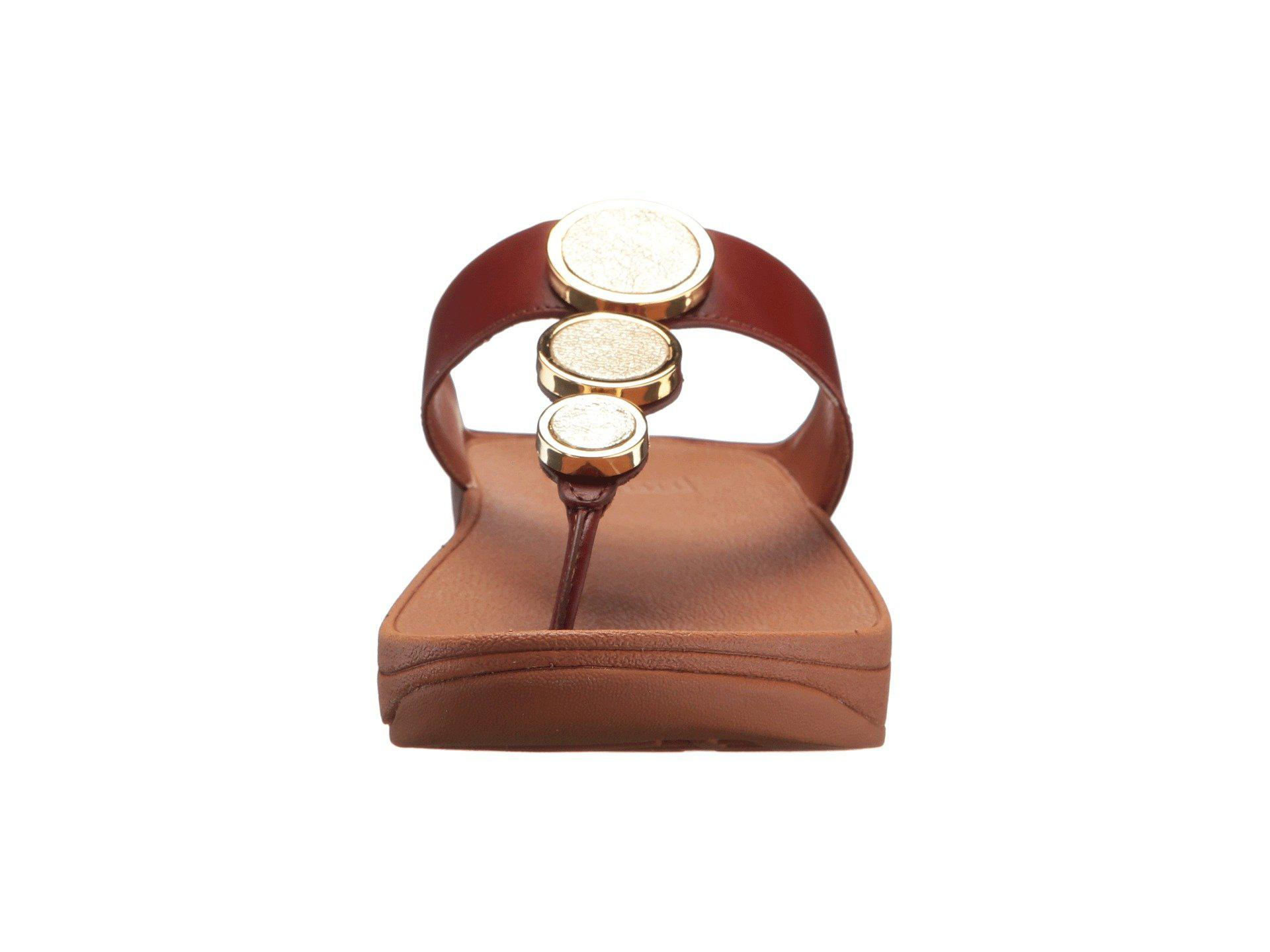 e92c52c5f Lyst - Fitflop Halo Toe Thong Sandals in Brown