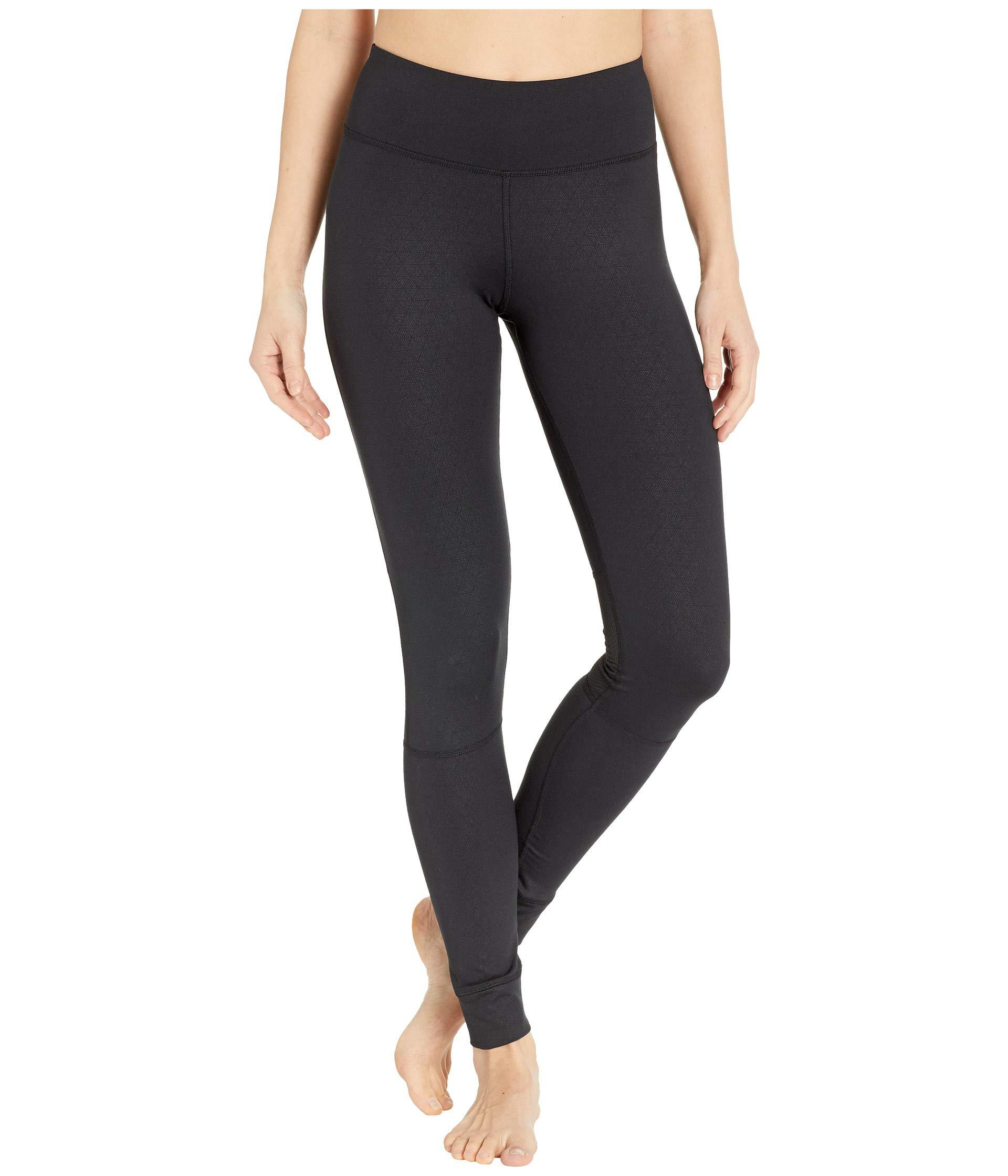 5e95d475c31fa2 Lyst - Reebok Thermowarm Touch Tights in Black