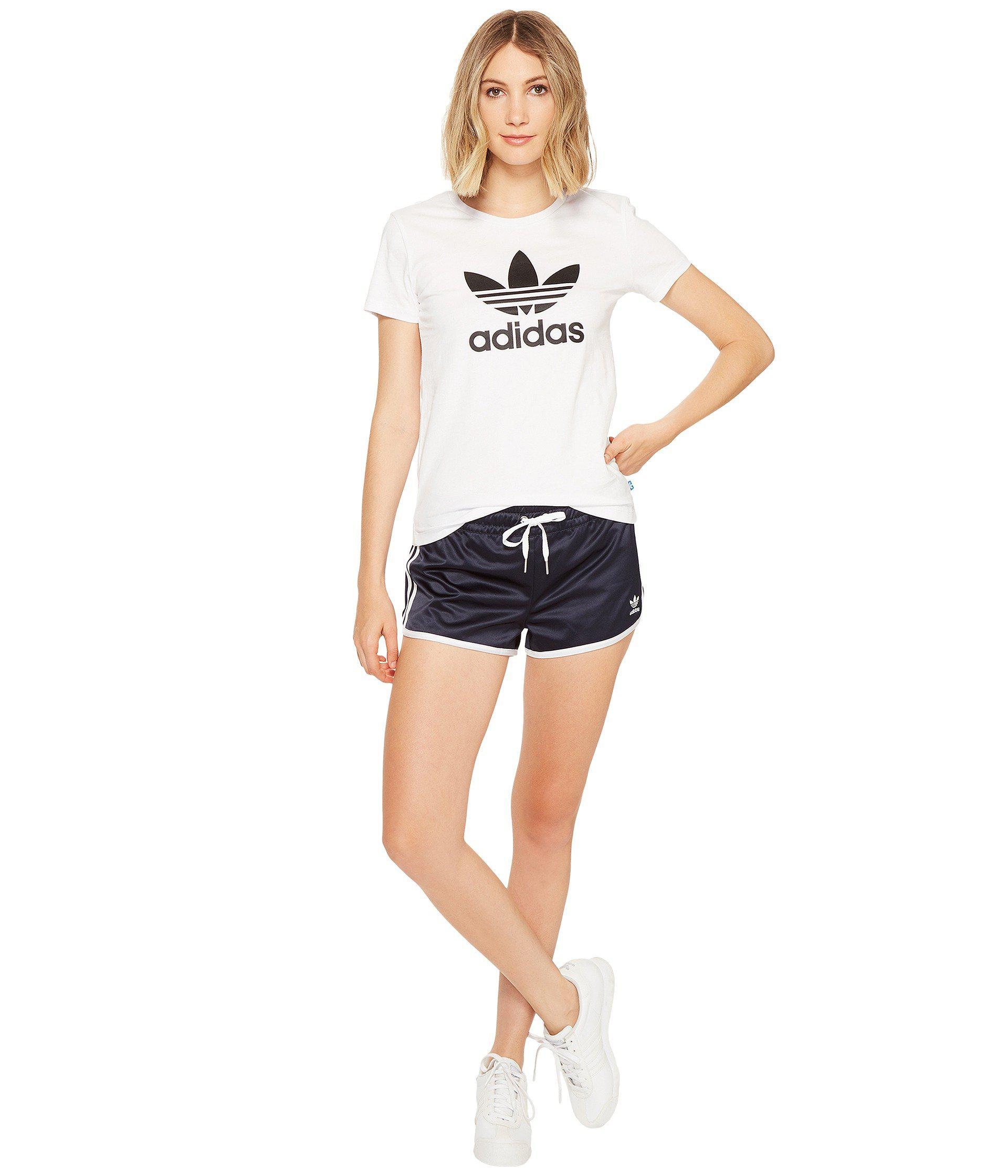 5cf9beb0c5 adidas Originals Slim Shorts - London in Blue - Lyst