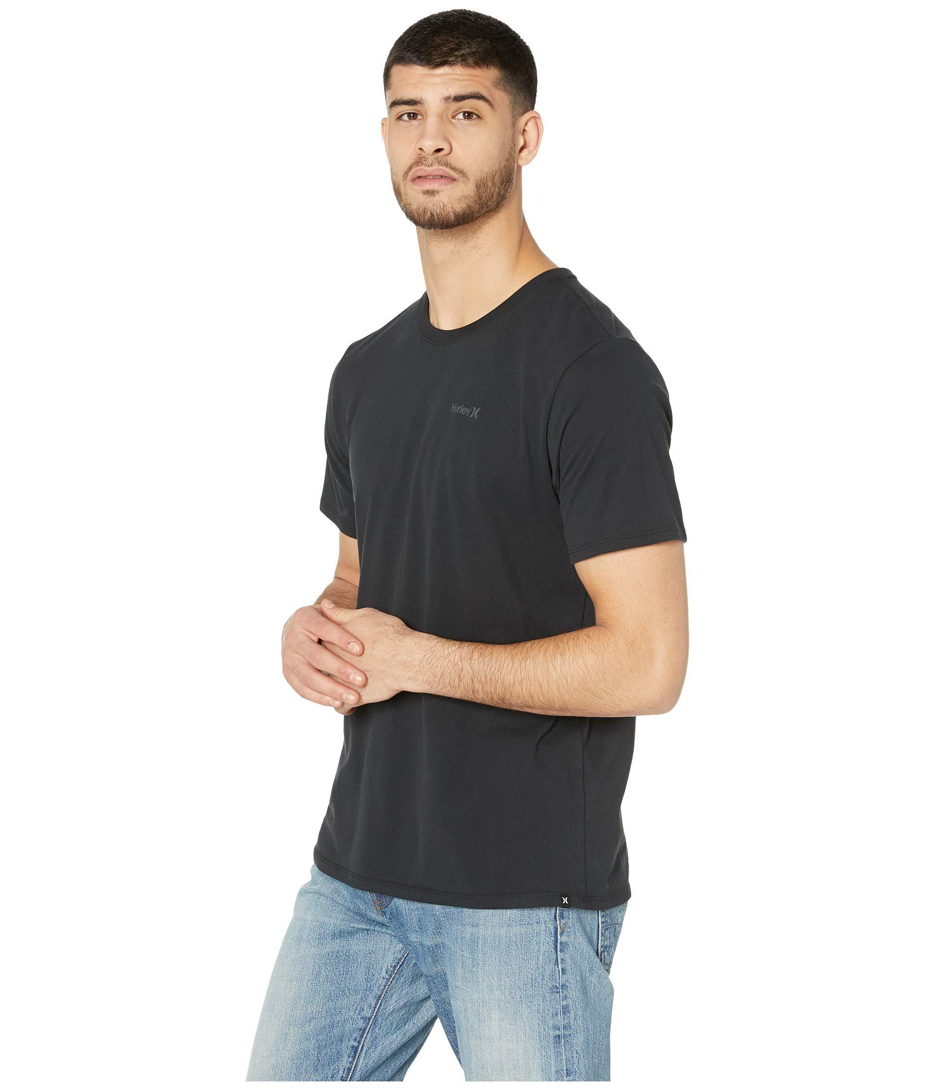 950cb122 Lyst - Hurley Dri-fit One And Only 2.0 T-shirt in Black for Men - Save 20%