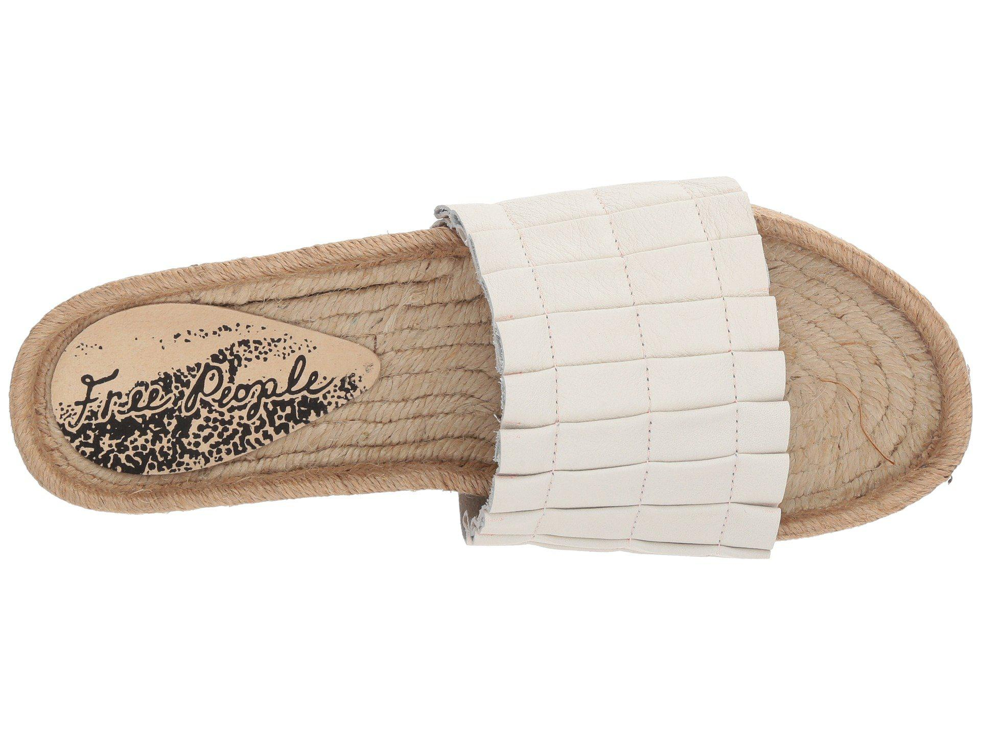 3c566d43e17 Free People - White Island Time Espadrille - Lyst. View fullscreen