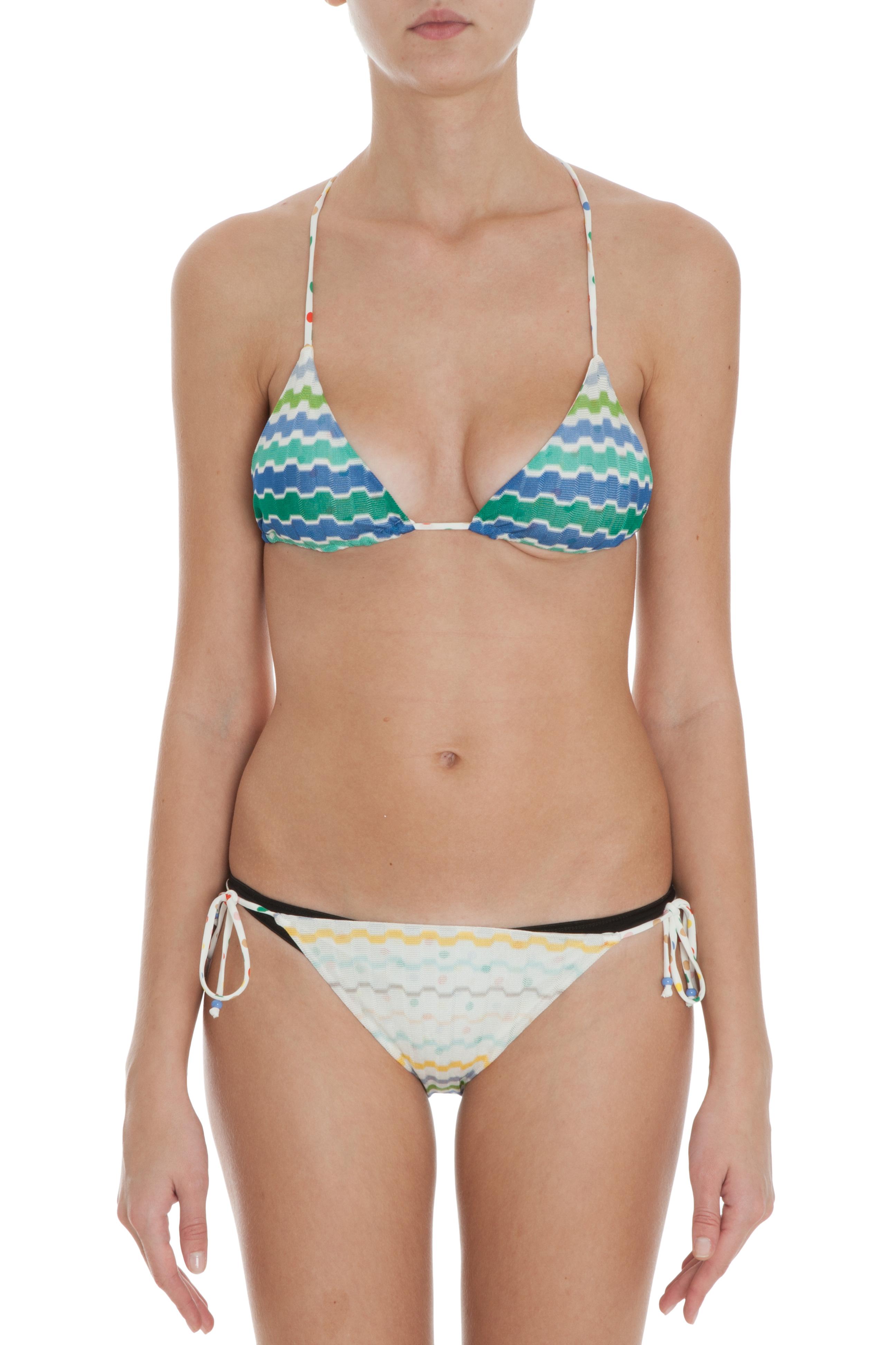 Pity, Missoni print bikini well