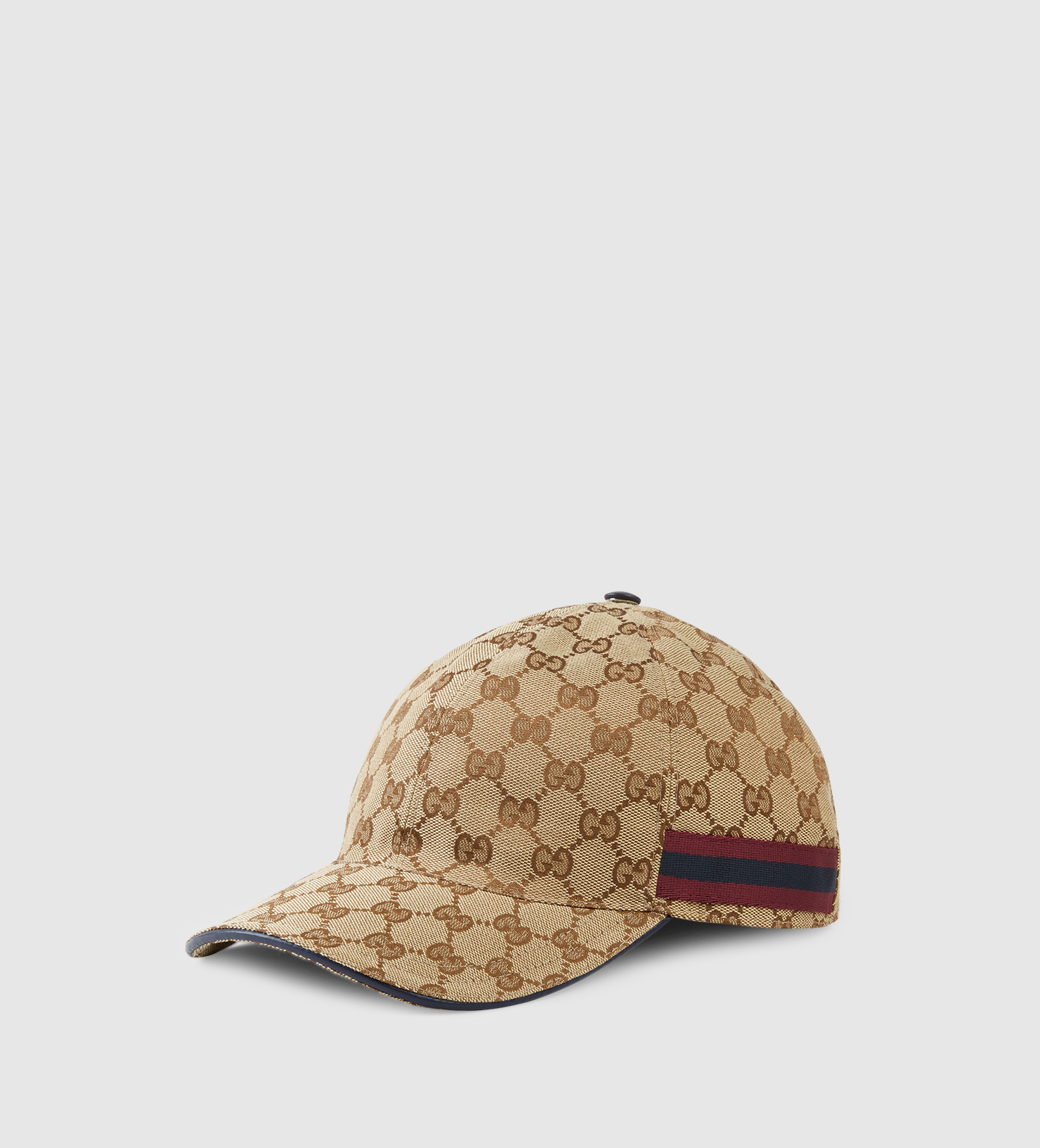 ... Gucci Original Gg Baseball Hat With Web Detail in Natural fo half off  fcf6a a638c ... 109c8576d871