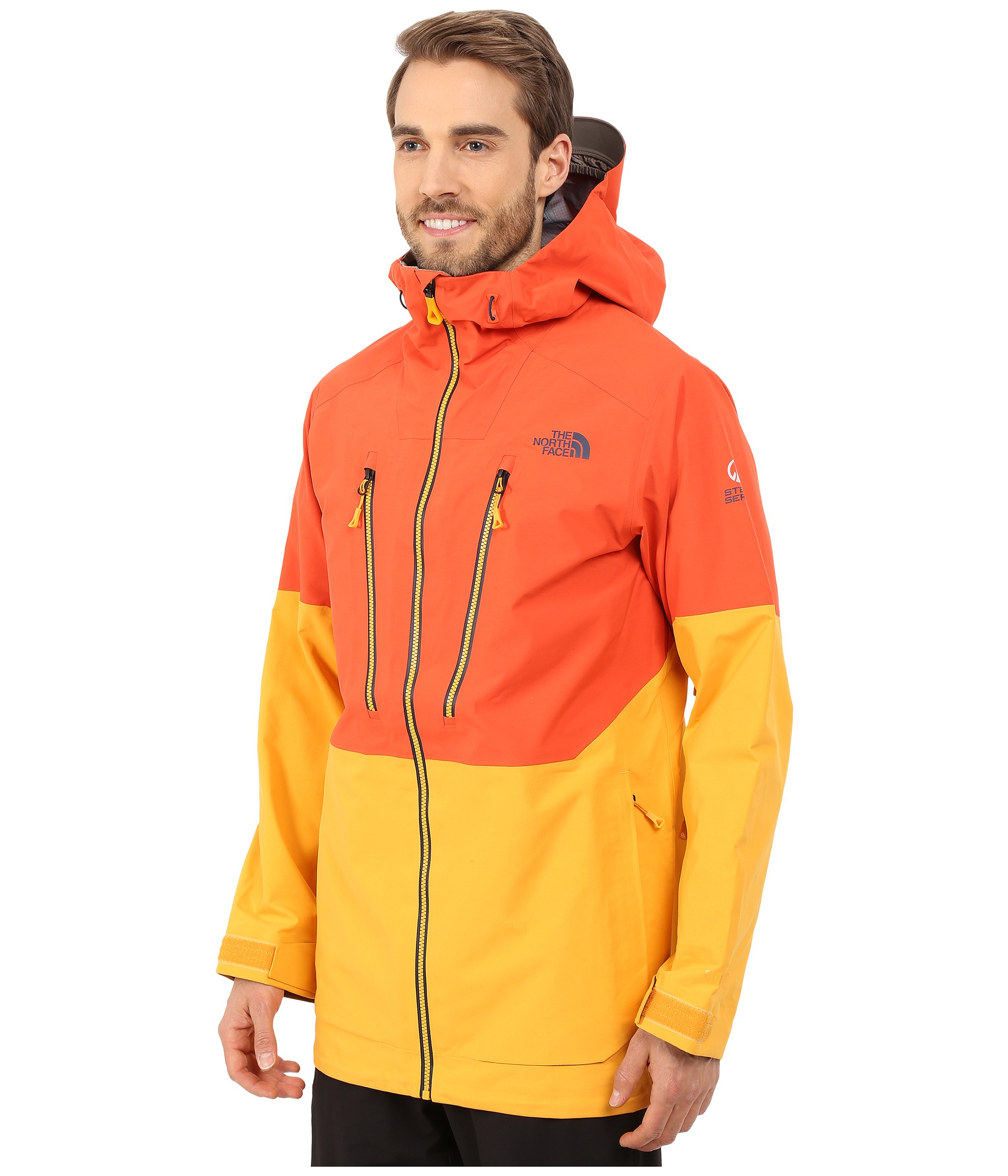 The North Face Free Thinker Jacket In Orange For Men