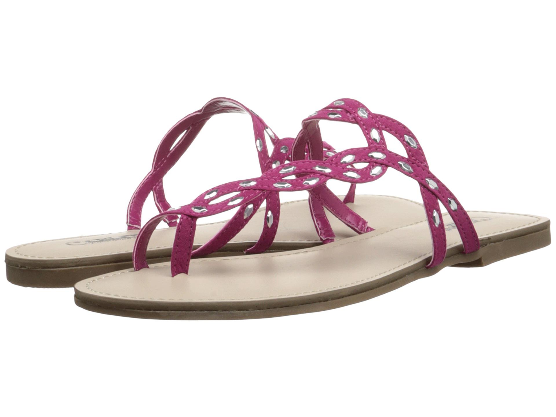 Womens Sandals CARLOS by Carlos Santana Selena Raspberry