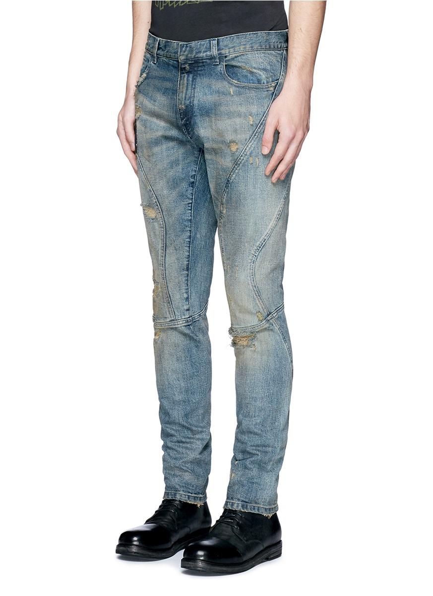 bleach running jeans - Blue Faith Connexion hvRewJ