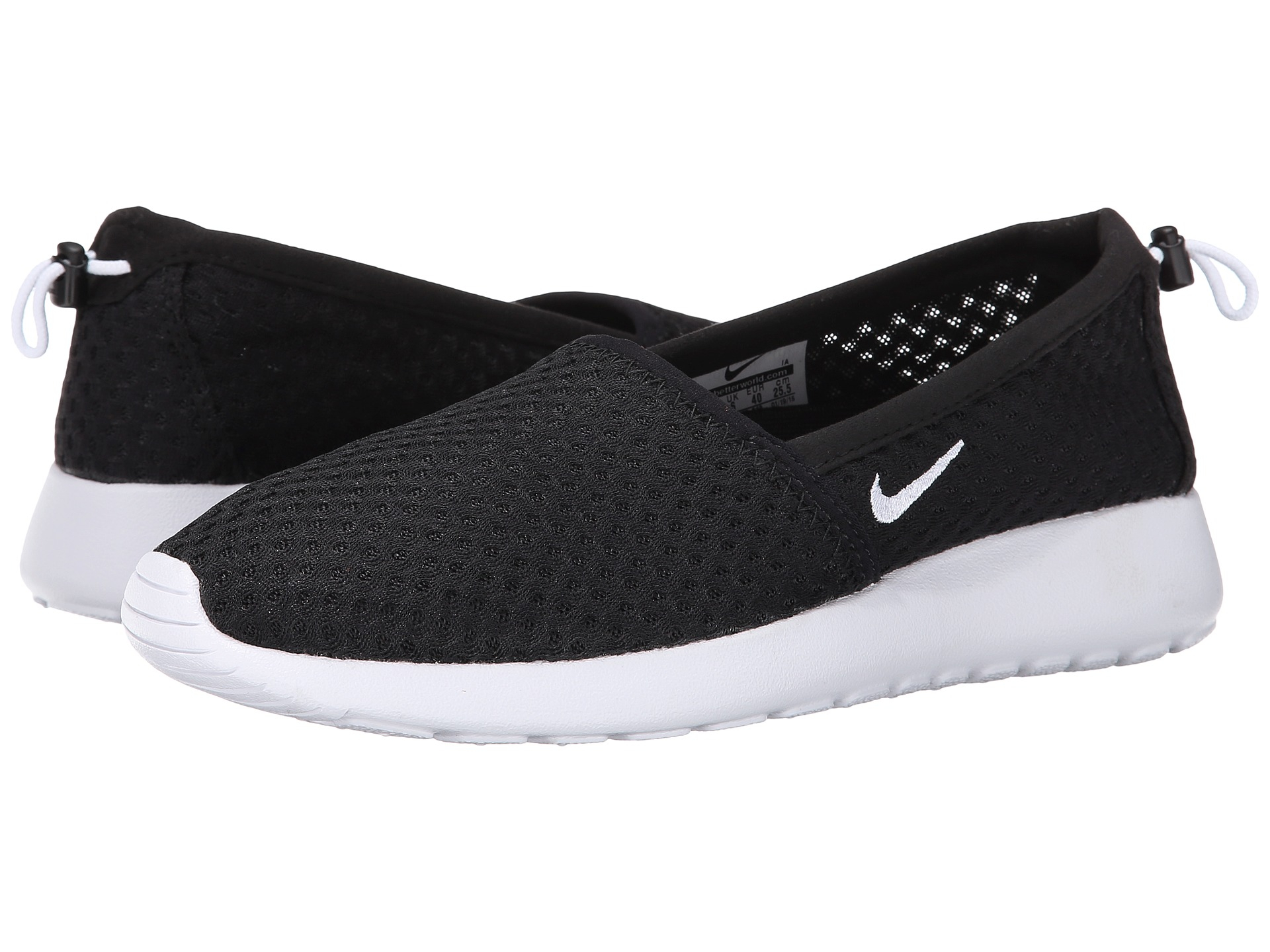 99ba480d5368 Lyst - Nike Roshe One Slip in Black