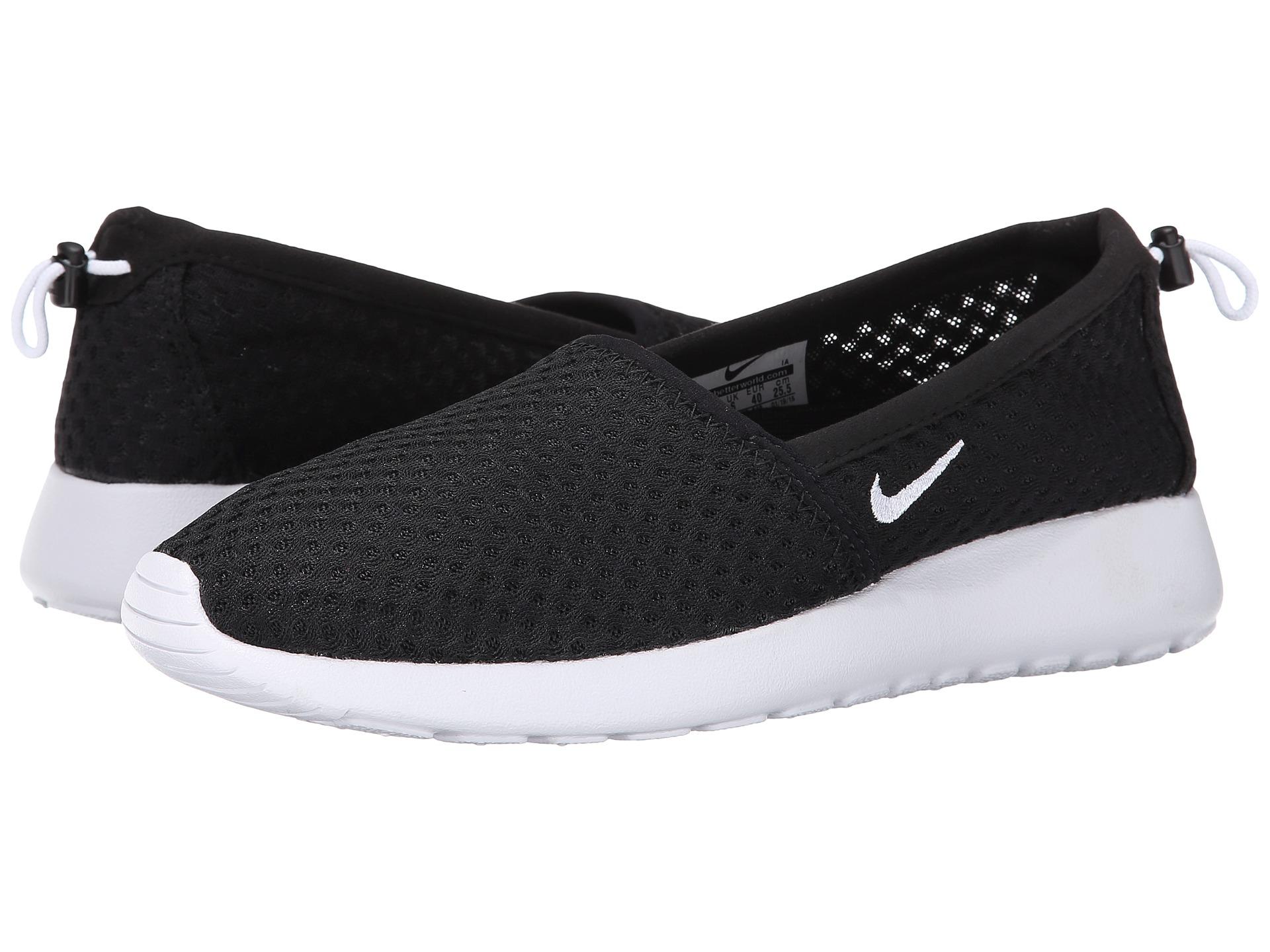 pretty nice 76f82 20326 Nike Roshe One Slip in Black - Lyst