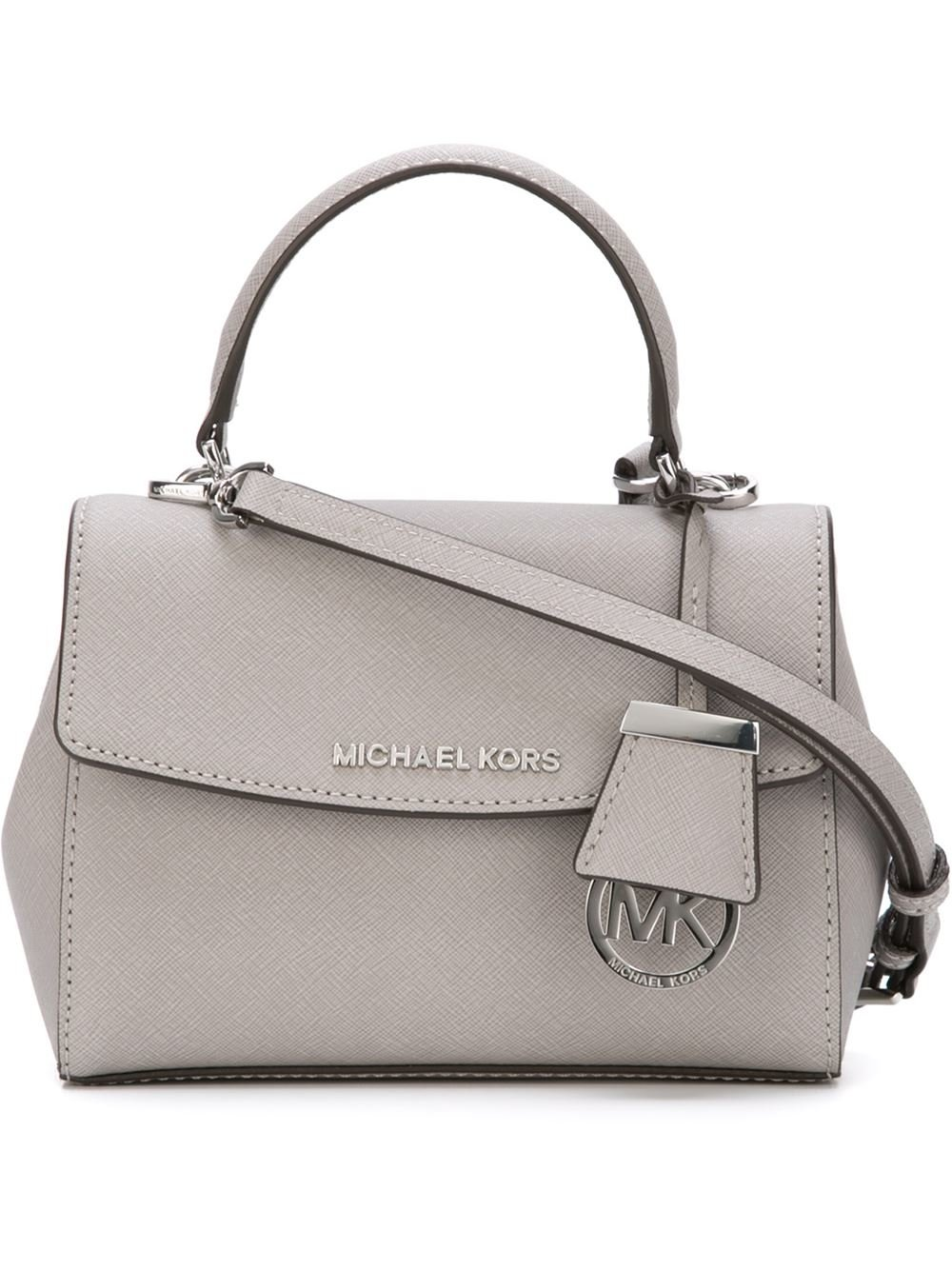 c471072c00f1 MICHAEL Michael Kors Mini 'ava' Tote in Gray - Lyst