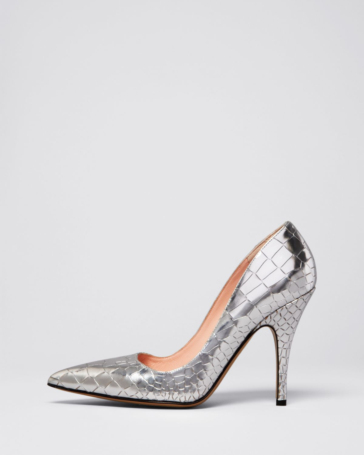Kate Spade New York Kate Spade Embossed Pointed-Toe Pumps clearance outlet store excellent online recommend free shipping 2015 new with paypal sale online JoqYDhEZr