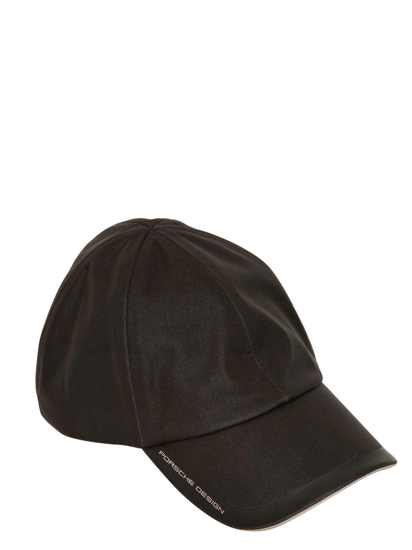 ac374bc910b36 Porsche Design Tech Cap Waterproof Heat Sealed Hat in Black for Men ...