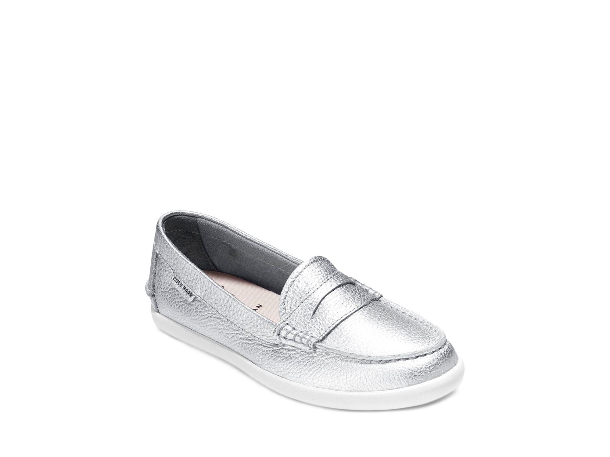 4a1b7dfa8c9 Cole Haan Loafer Flats - Pinch Weekender Metallic in Metallic - Lyst