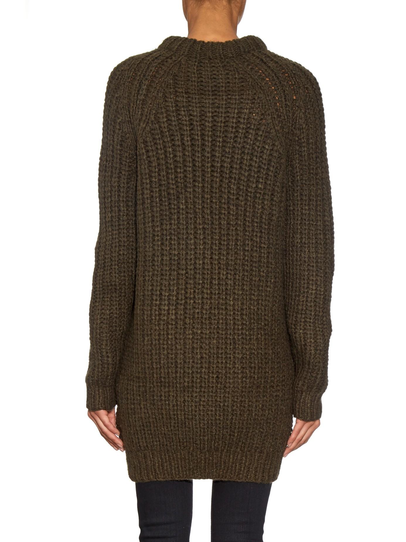 fedbbc908 Lyst - NLST Fisherman Wool Sweater Dress in Natural