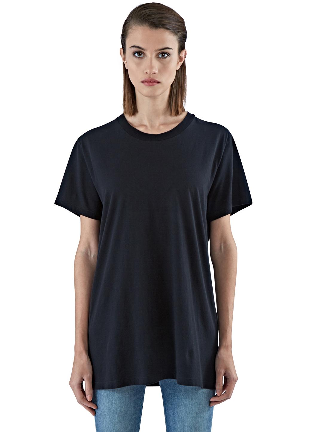 Lyst saint laurent t shirt in black for Saint laurent t shirt