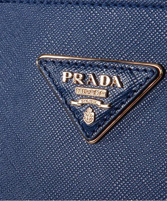 Prada Bn1786 Bag - Navy Blue Bluette Saffiano Lux Calf Leather ...