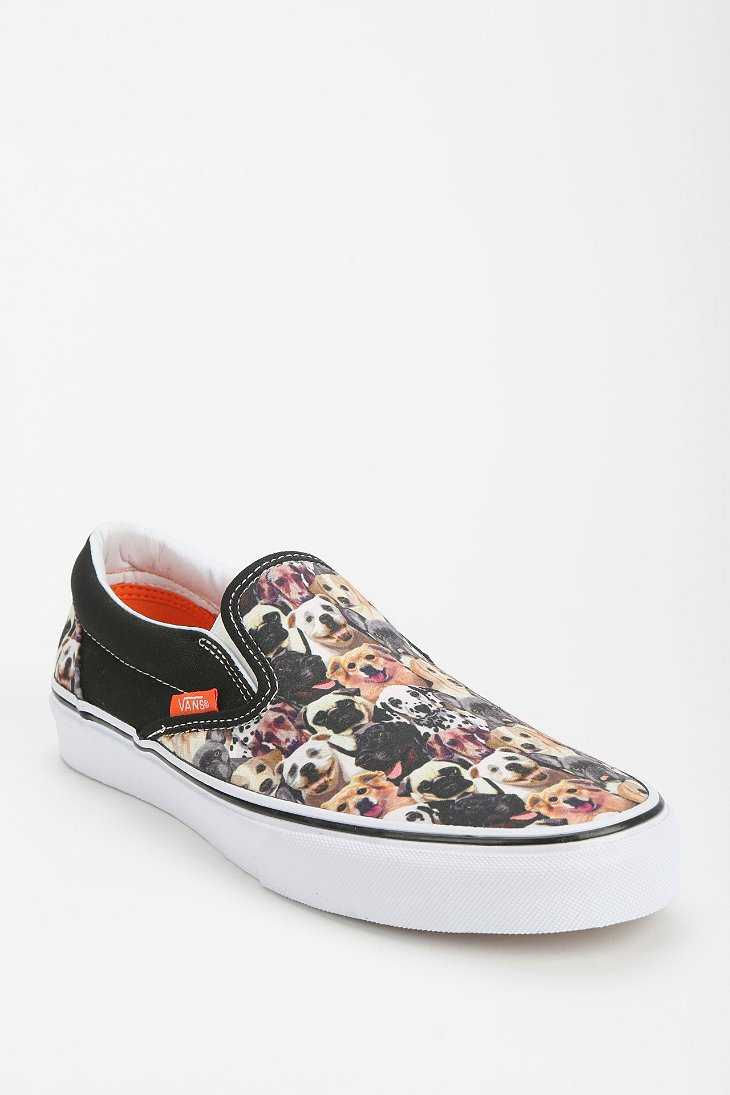 Vans X Aspca Dog Print Slipon Sneaker - Lyst cb16d97ad