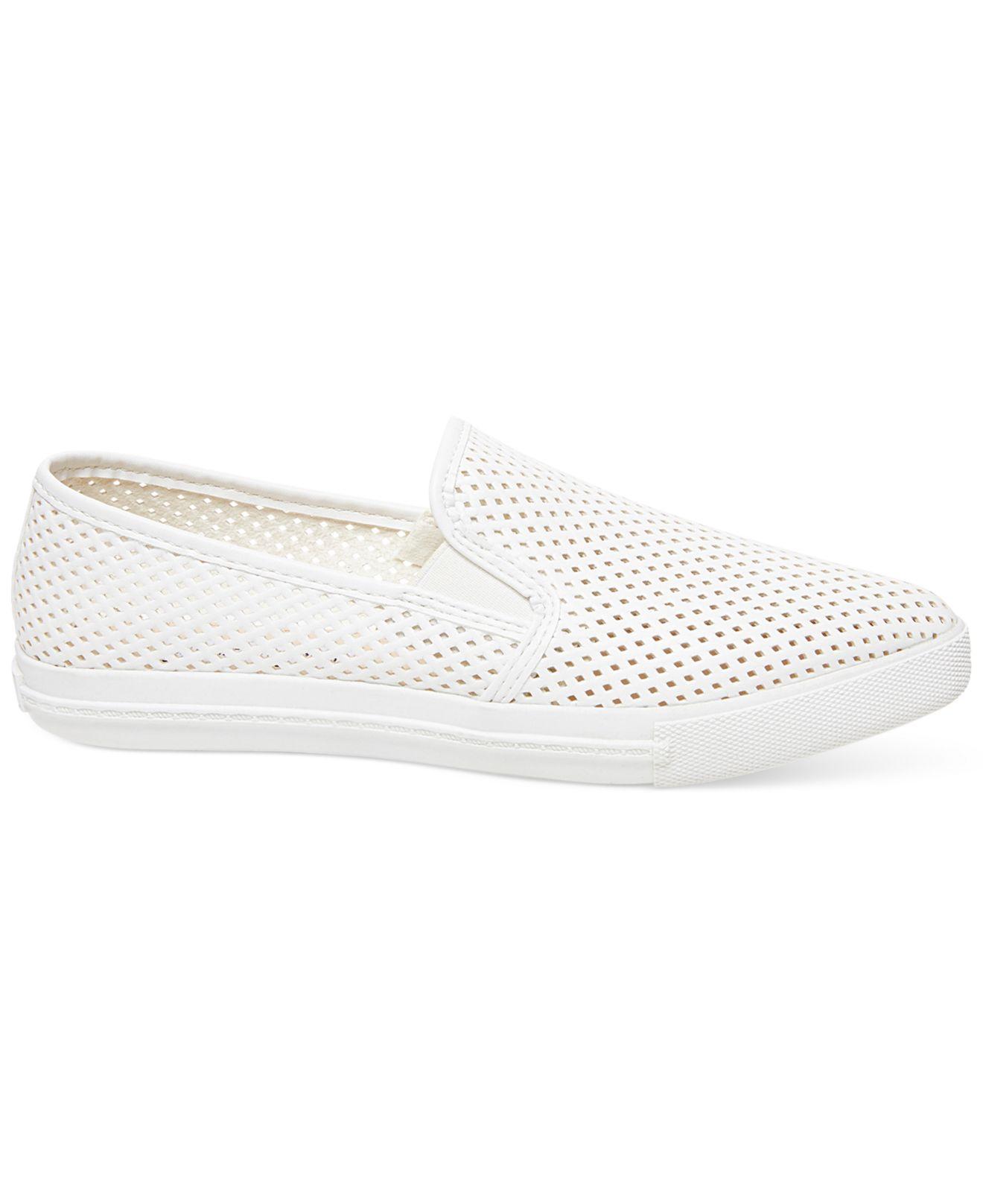 af020576626 Lyst - Steve Madden Women S Virggo Slip-On Sneakers in White