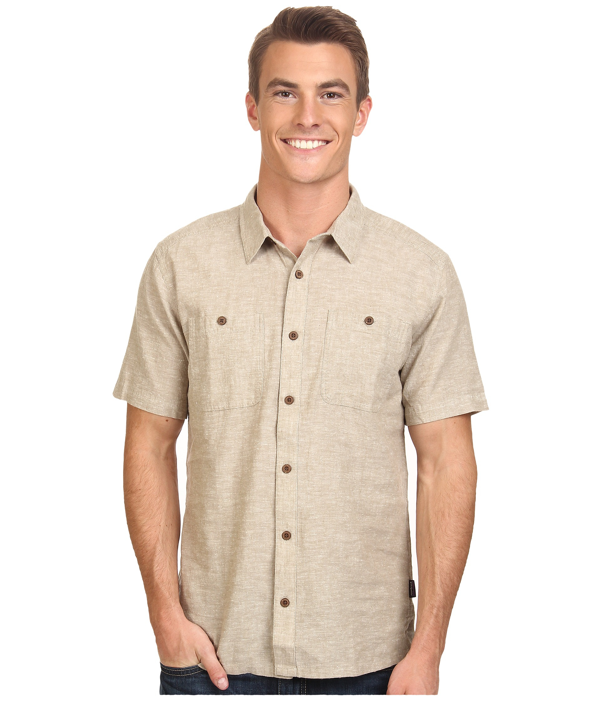 Patagonia Back Step Shirt in Natural for Men | Lyst