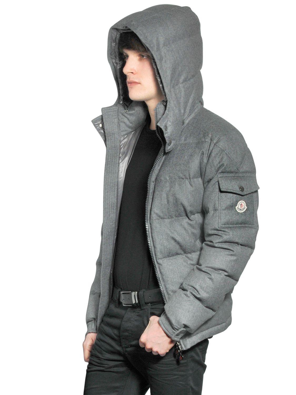 grey moncler coat