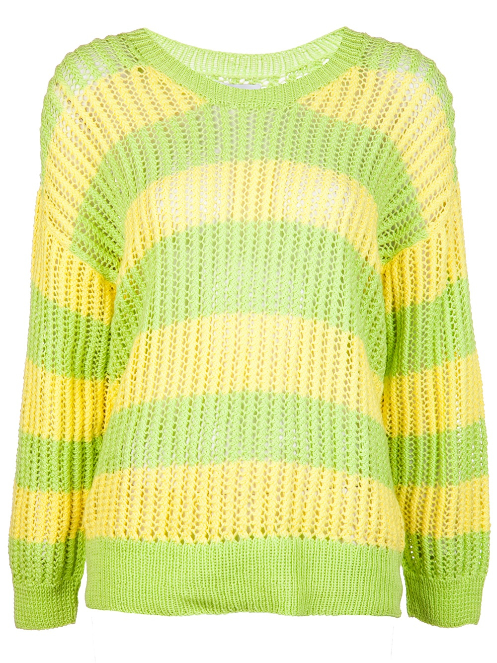 Risto Howling Wolves Sweater Green in Green | Lyst