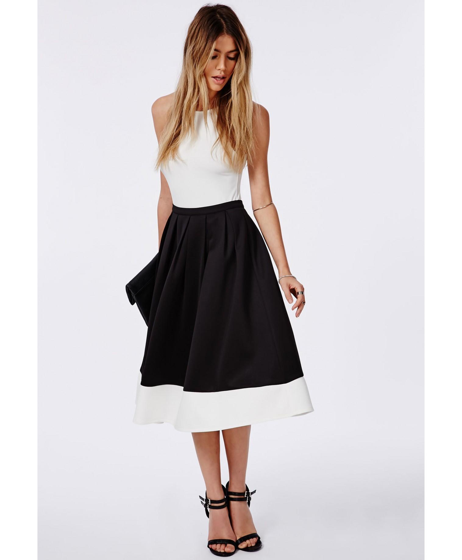 Mid Skater Skirt - Skirts