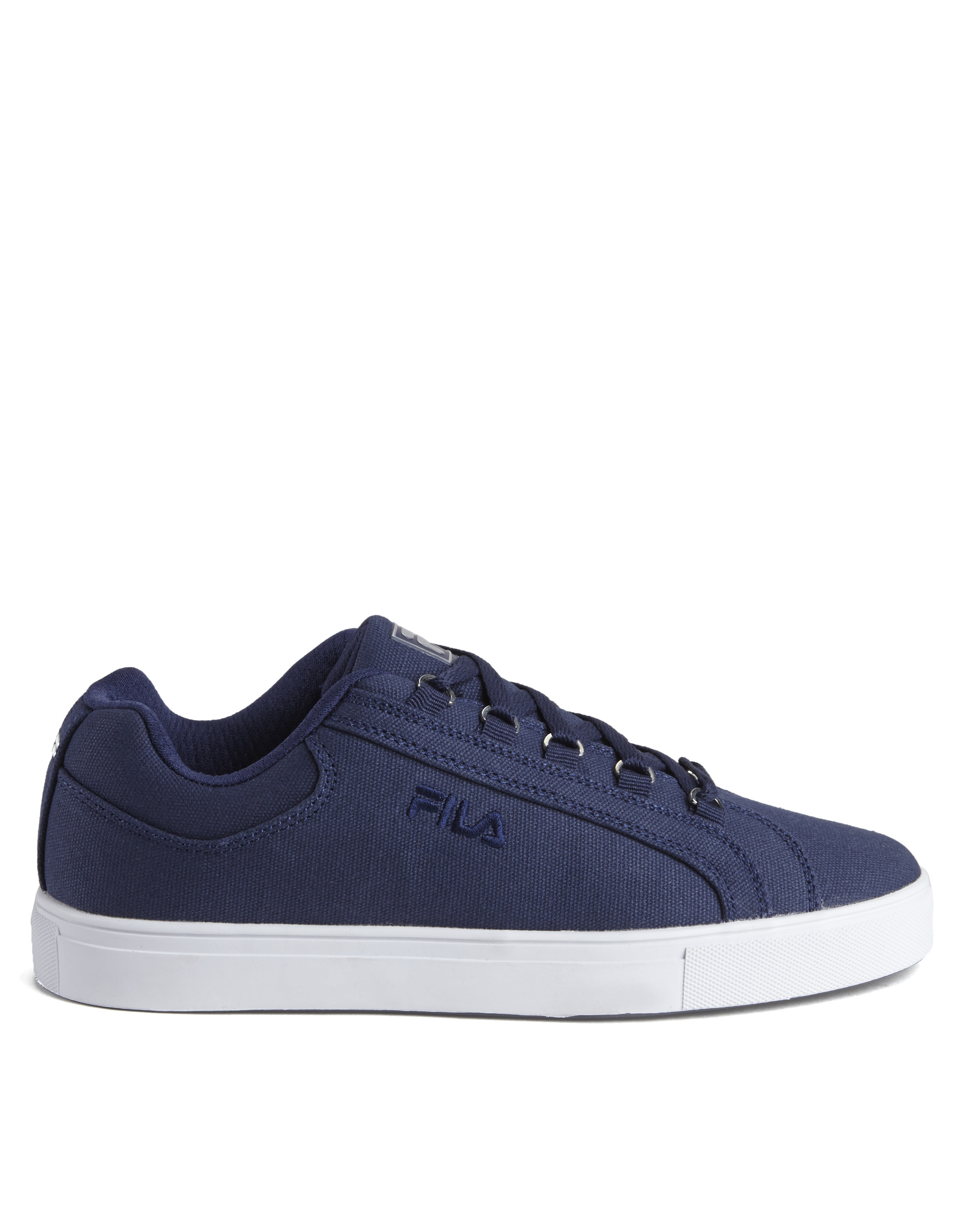 Fila Navy Oxidize Low Canvas Sneakers In Blue Lyst