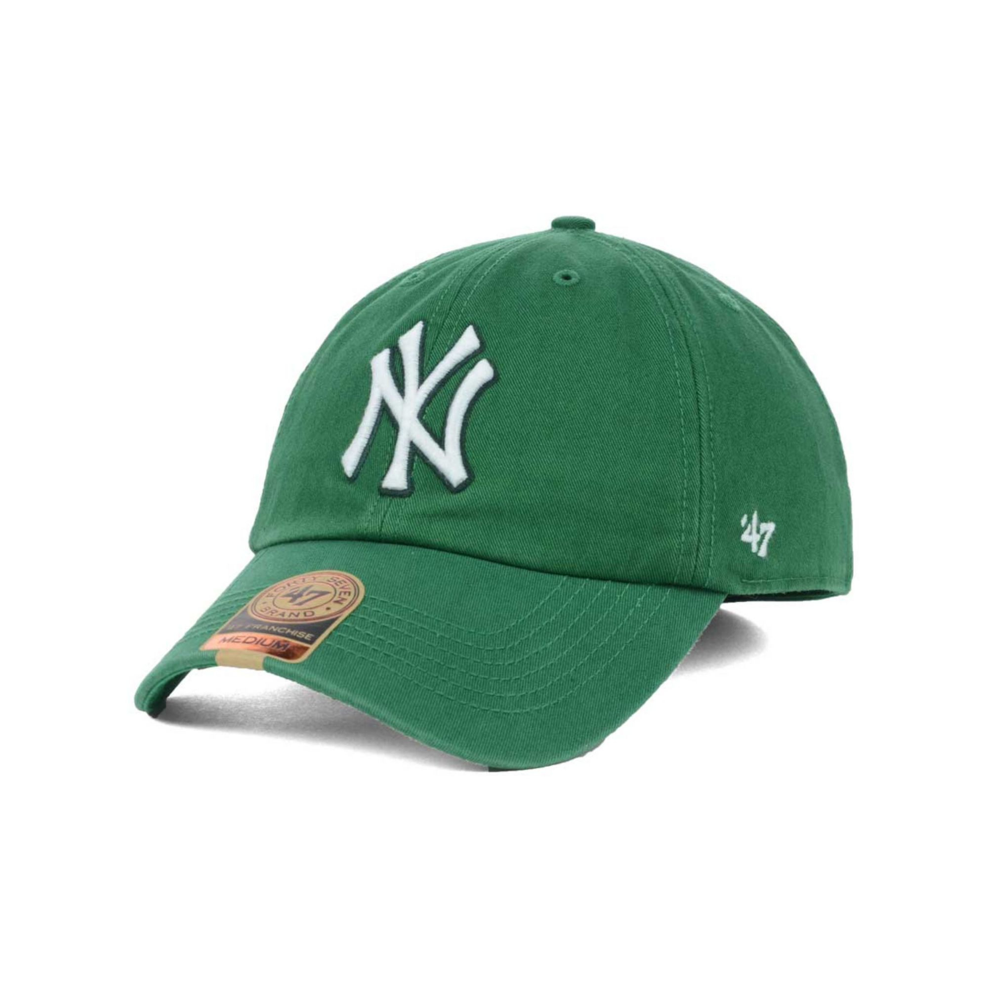 870ef3466674d9 ... usa lyst 47 brand new york yankees mlb kelly 47 franchise cap in green  93a08 c0faa ...