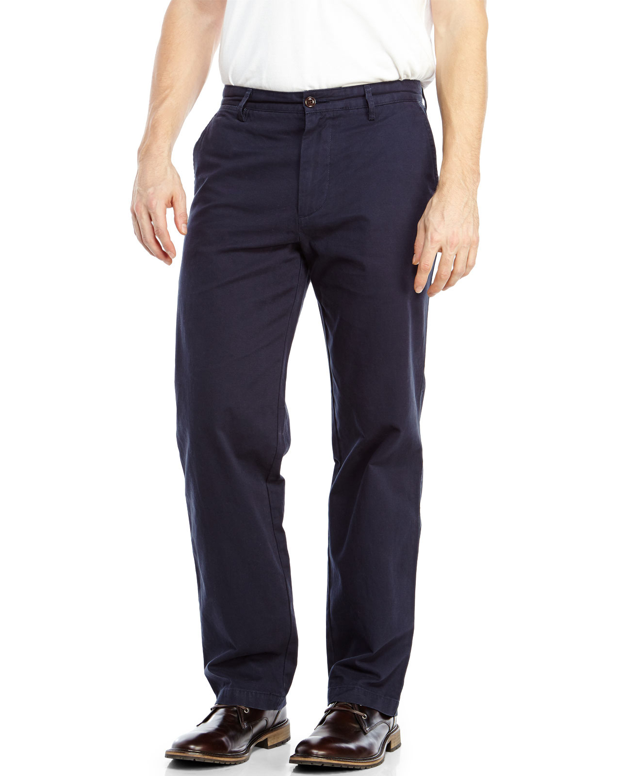 Dockers Navy Field Khaki Pants in Blue for Men | Lyst