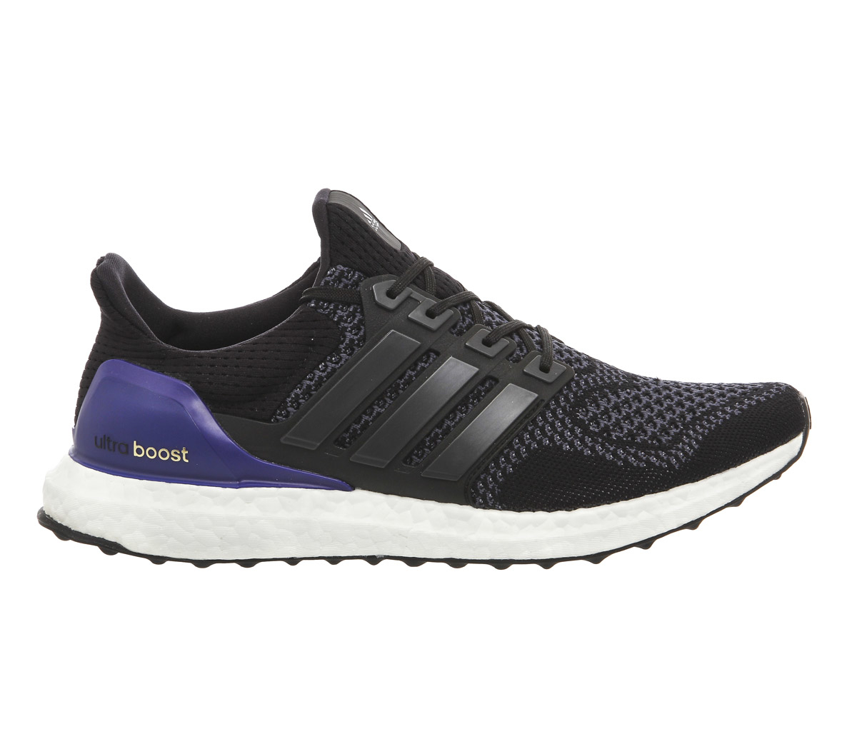 lyst adidas ultra boost trainers in black. Black Bedroom Furniture Sets. Home Design Ideas