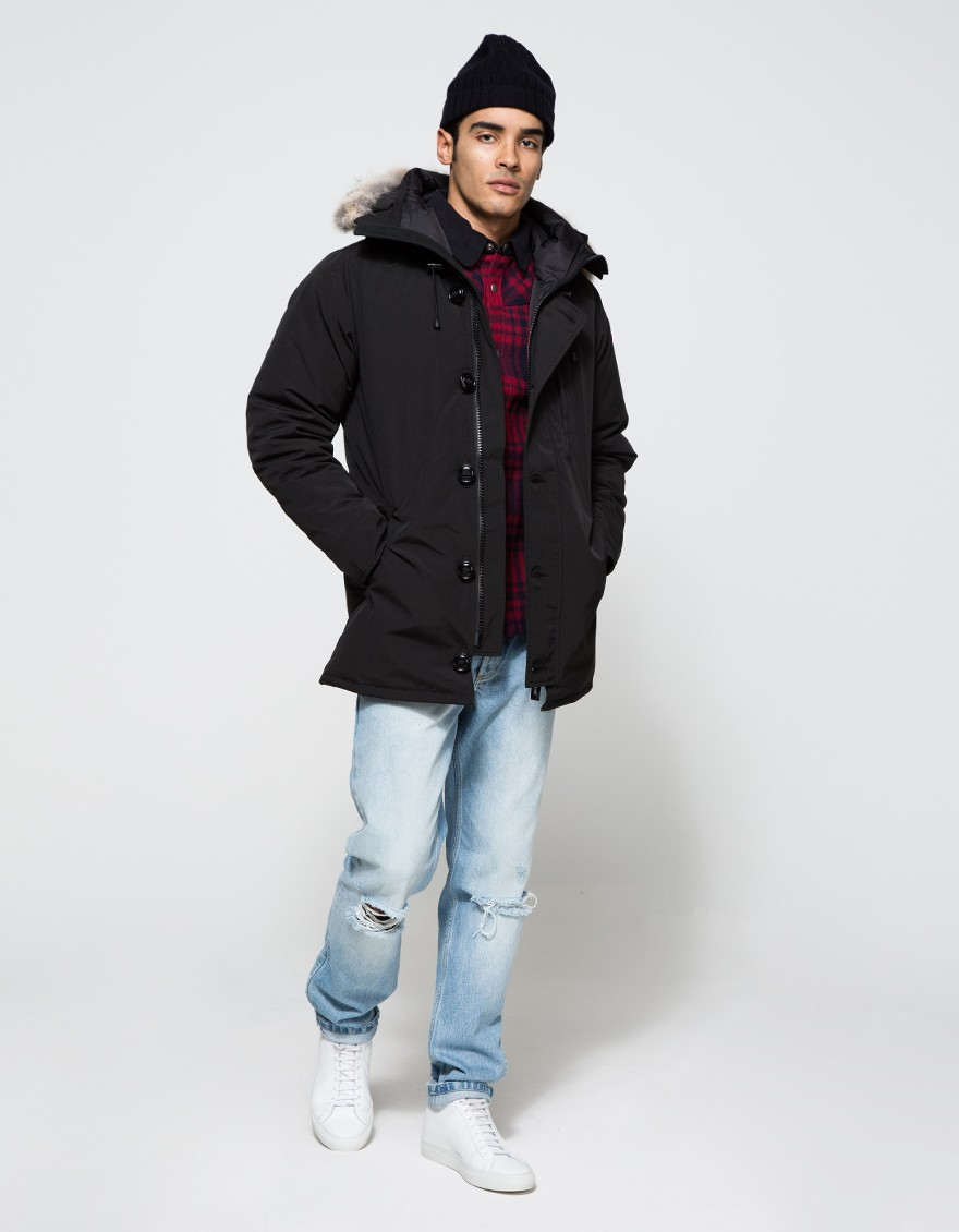 Canada Goose expedition parka replica fake - Canada goose Chateau Parka In Black in Black for Men | Lyst
