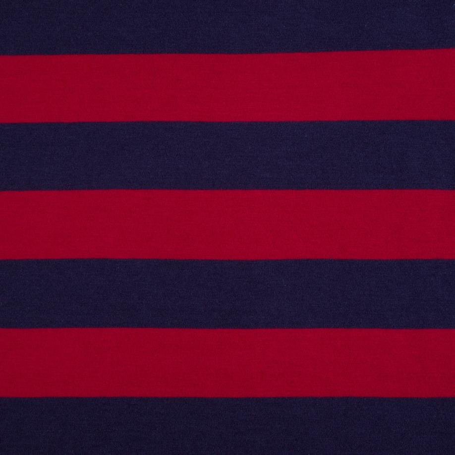 lyst paul smith men 39 s oversized navy and red block stripe cotton t shirt in blue for men. Black Bedroom Furniture Sets. Home Design Ideas