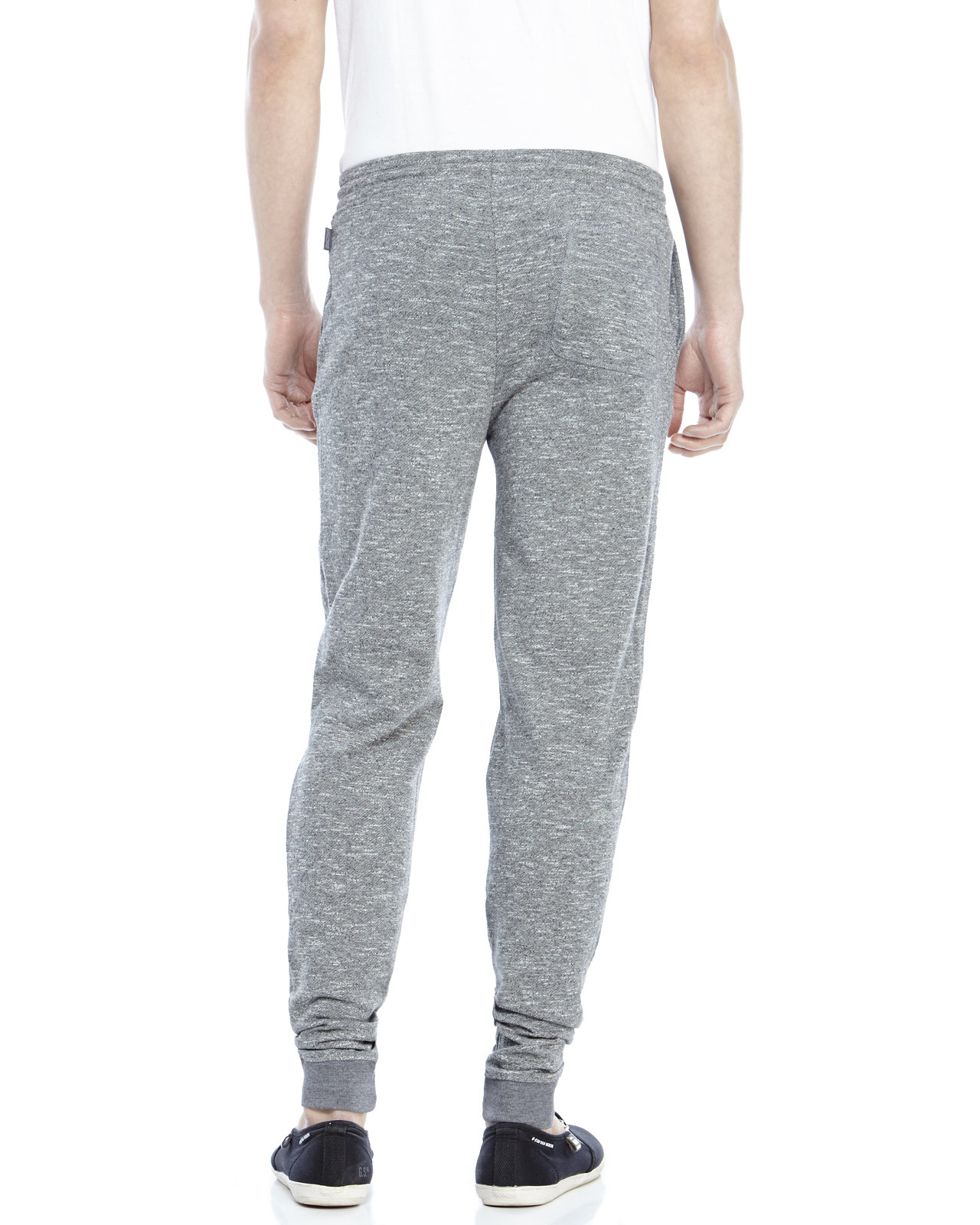 b1f92d6d0a10 Lyst - Threads For Thought Grey Marled Knit Jogger Pants in Gray for Men