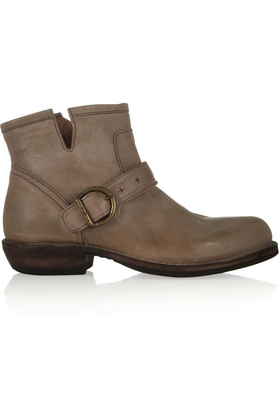 fiorentini baker chad carnaby leather ankle boots in brown neutrals lyst. Black Bedroom Furniture Sets. Home Design Ideas