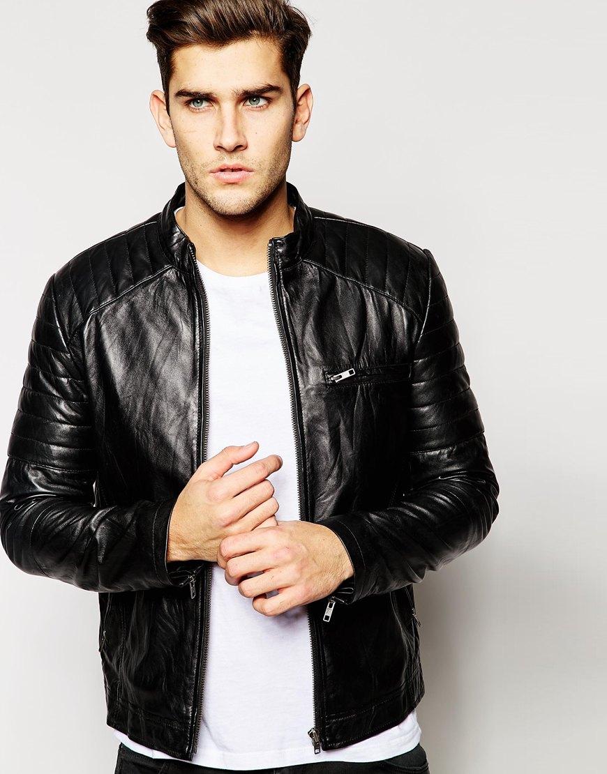 Barneys leather jacket