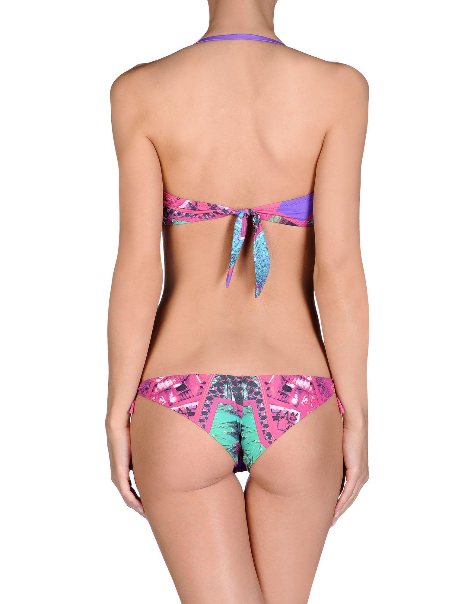 A'biddikkia Bikini in Purple (Fuchsia)   Lyst