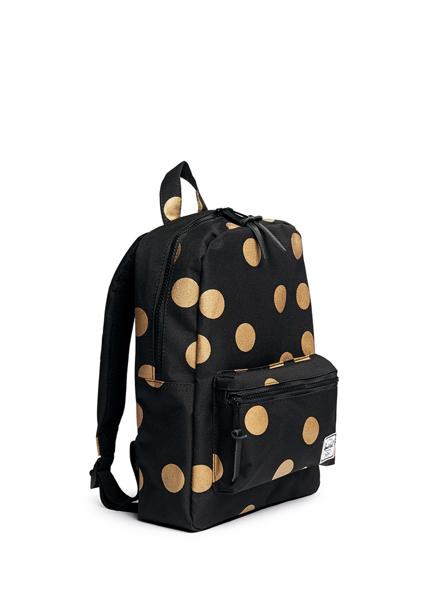 Herschel supply co. 'settlement' Polka Dot Print Kids Backpack in ...