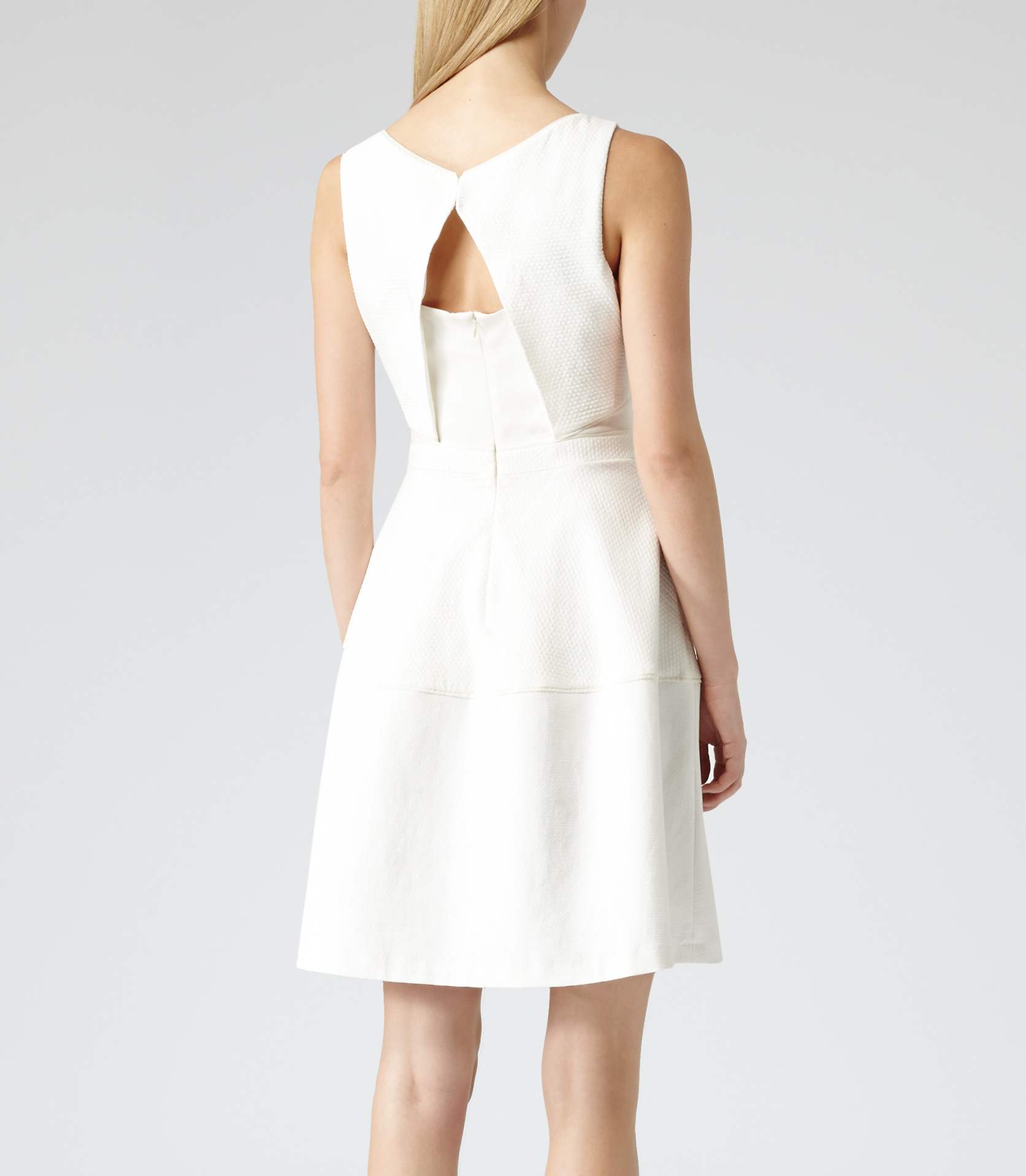 Reiss natalie dress off white