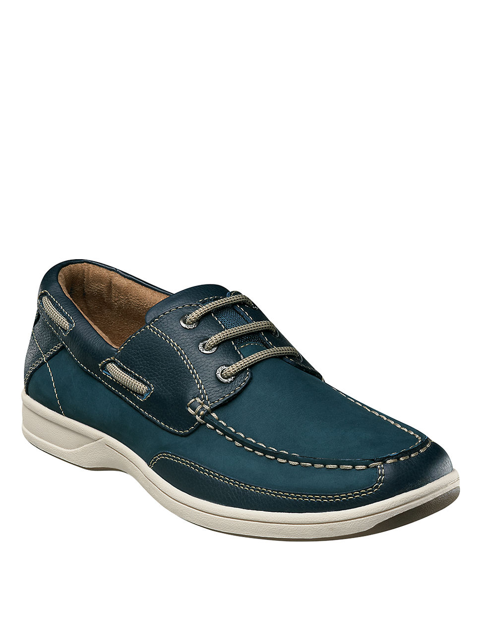 Blue Womens Boat Shoes