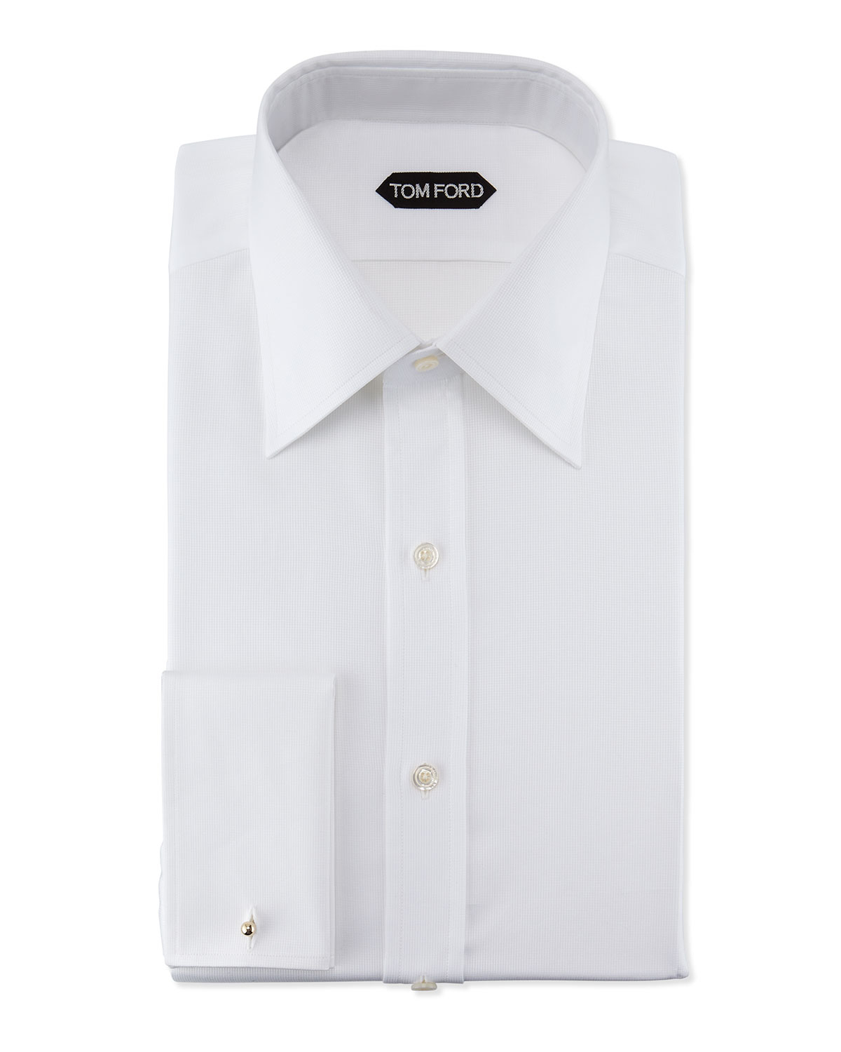 Tom Ford Slim Fit Classic Dress Shirt In White For Men Lyst