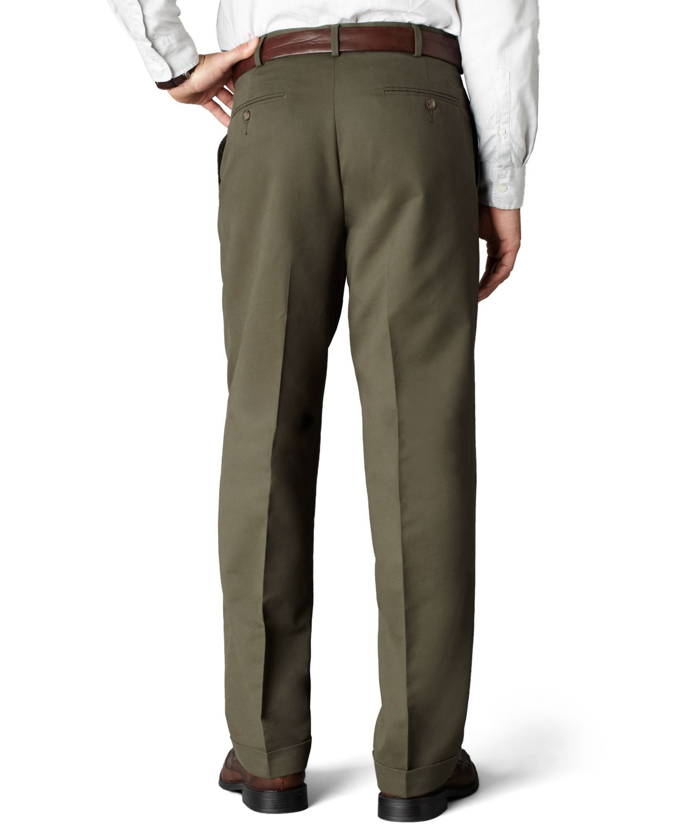 Lyst Dockers D4 Relaxed Fit Comfort Khaki Pleated Pants