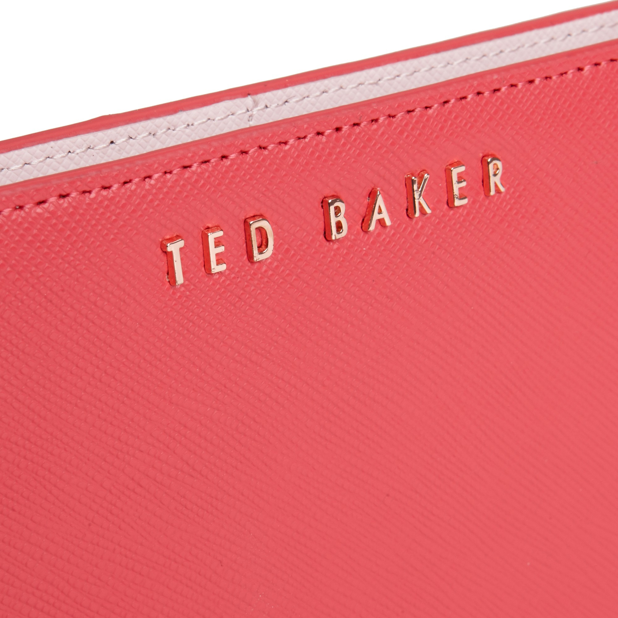 e21df06be54151 Ted Baker Alaniy Crosshatch Matinee Purse in Red - Lyst