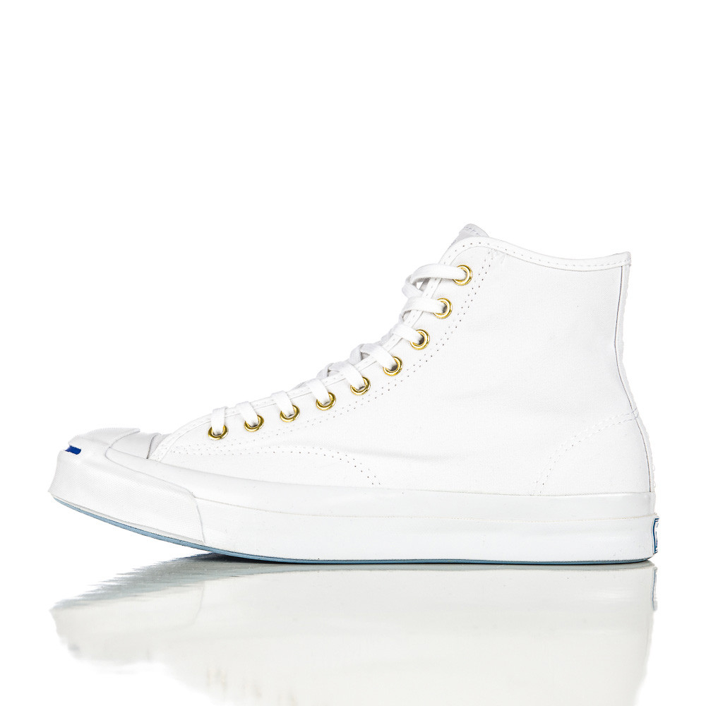 0034108d0980 Lyst - Converse Jack Purcell Signature Duck Canvas Hi In White in ...