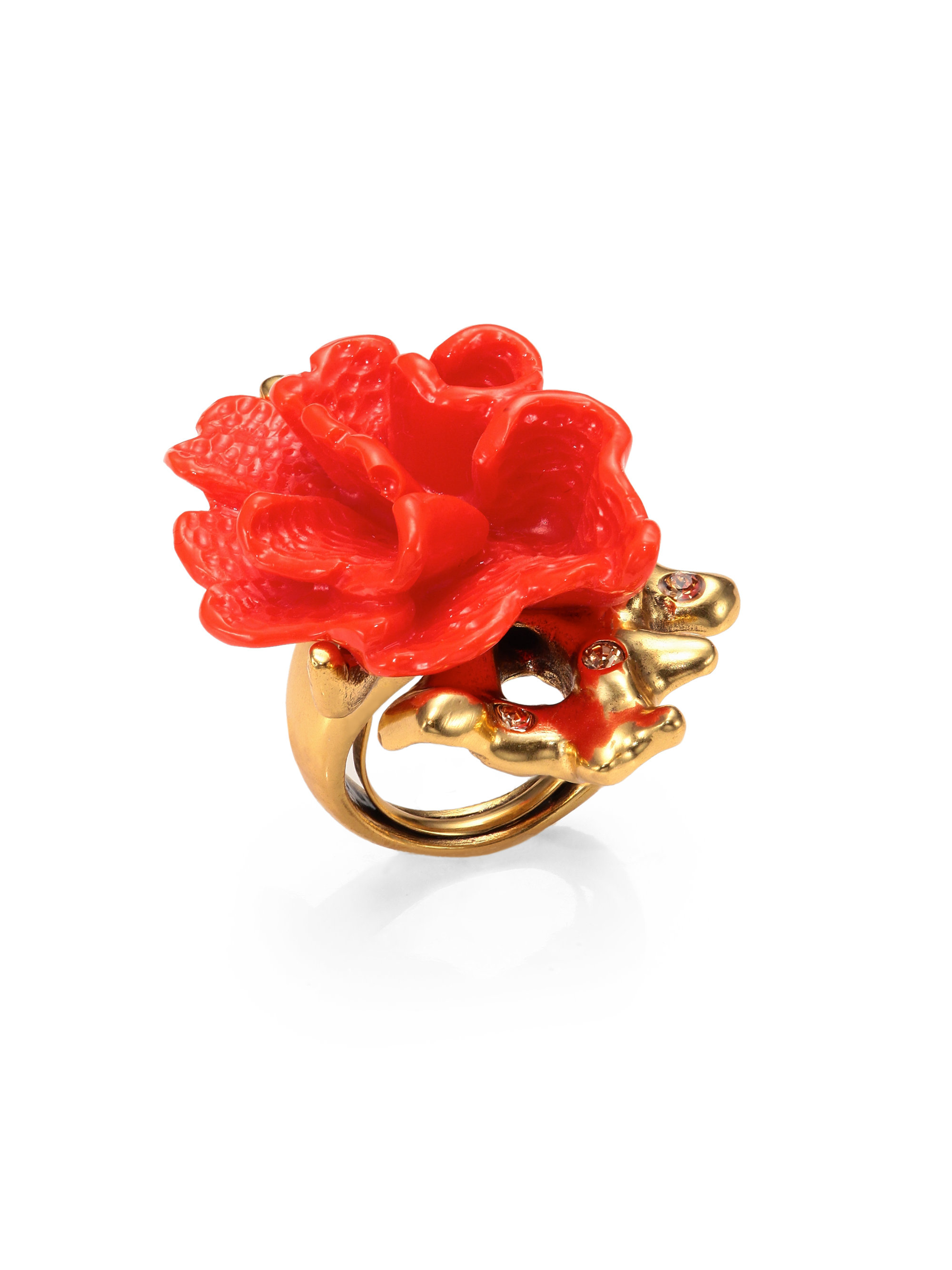 christina rings handcrafted ring coral diamond shop jewelry jervey