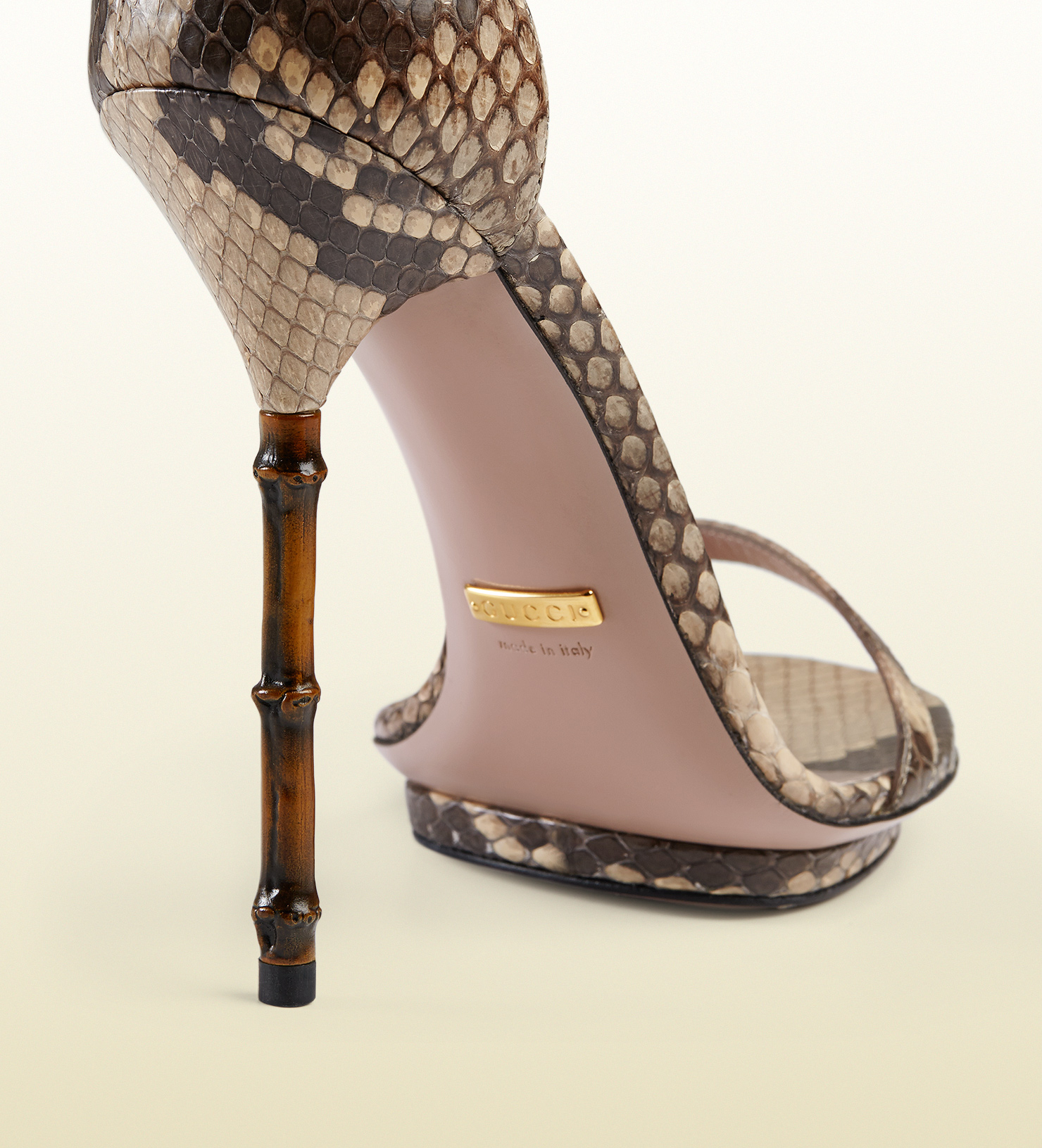 Gucci Shoes Bamboo Heels