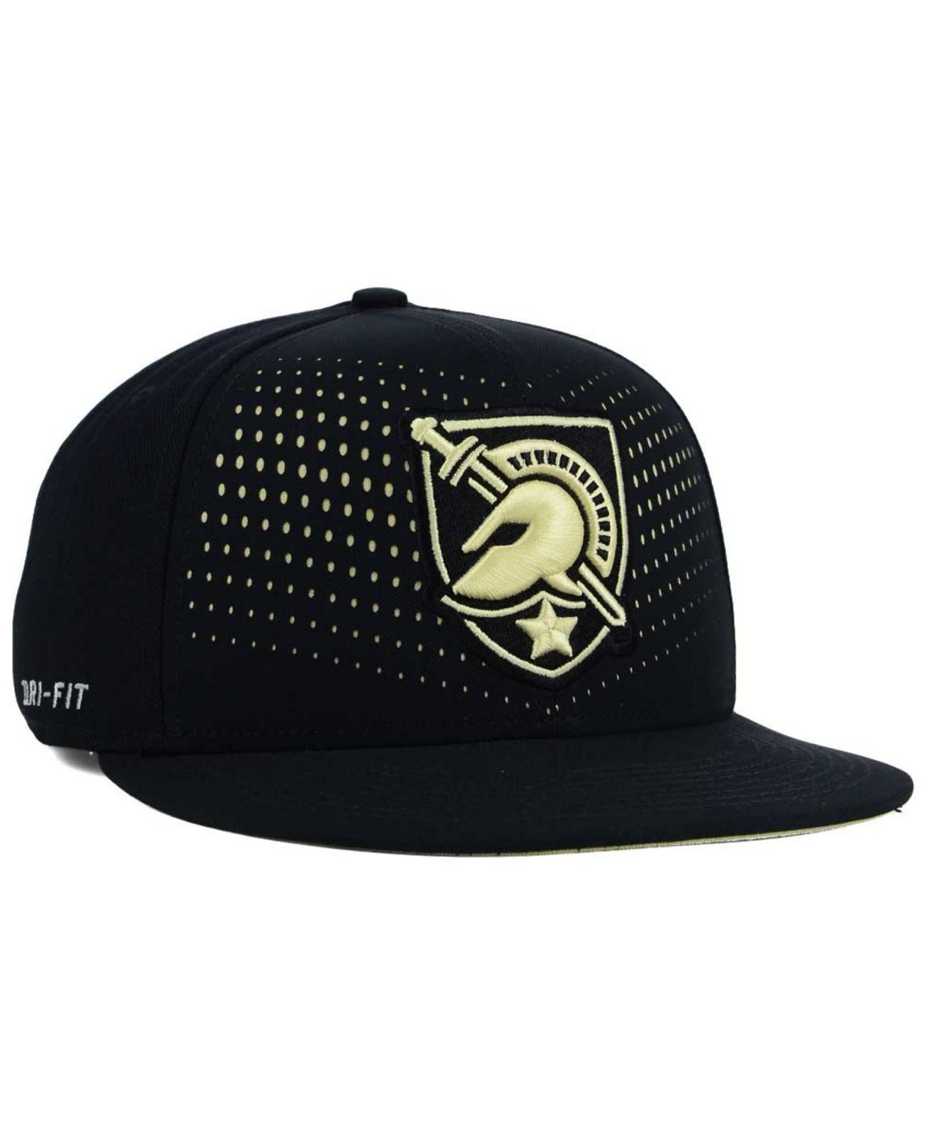 bf326285d51 promo code for lyst nike army black knights true seasonal snapback cap in  black 88314 d51f1